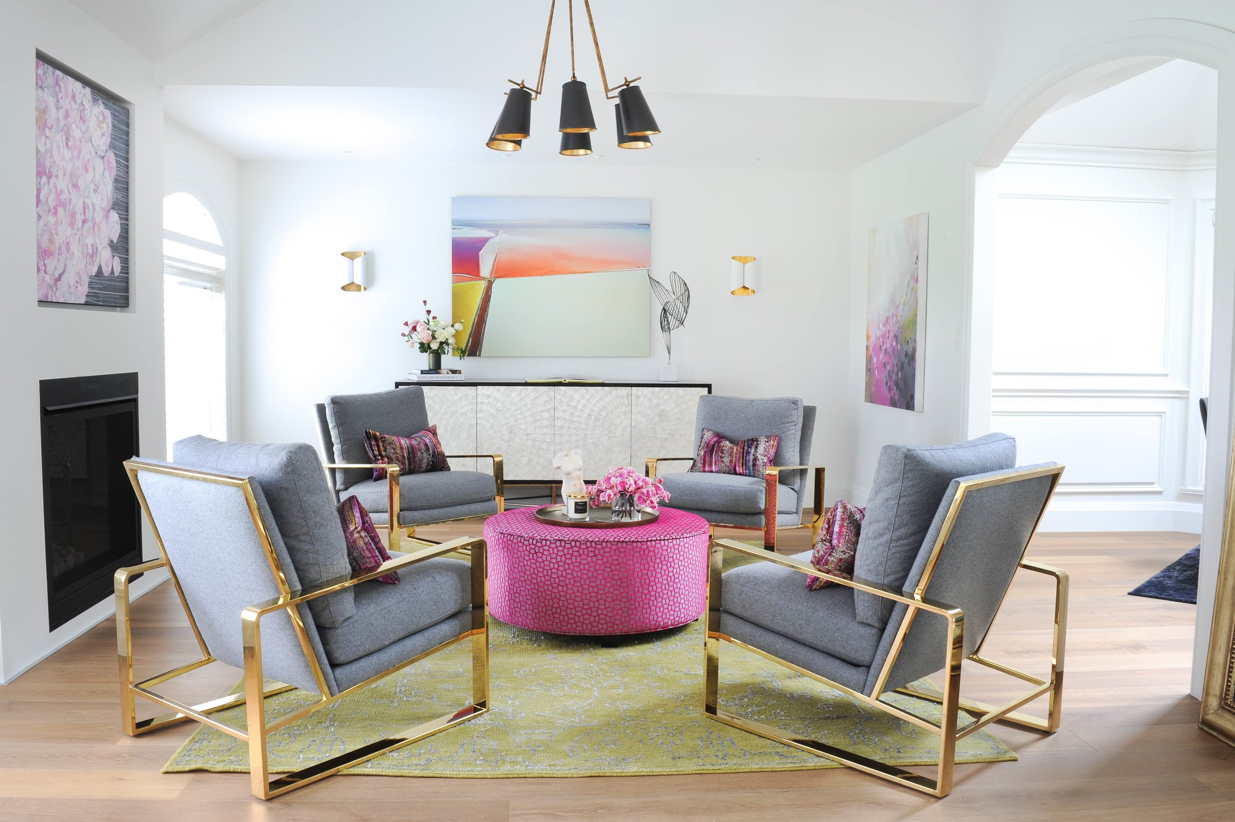 Approchable Luxury & Colourful interior design