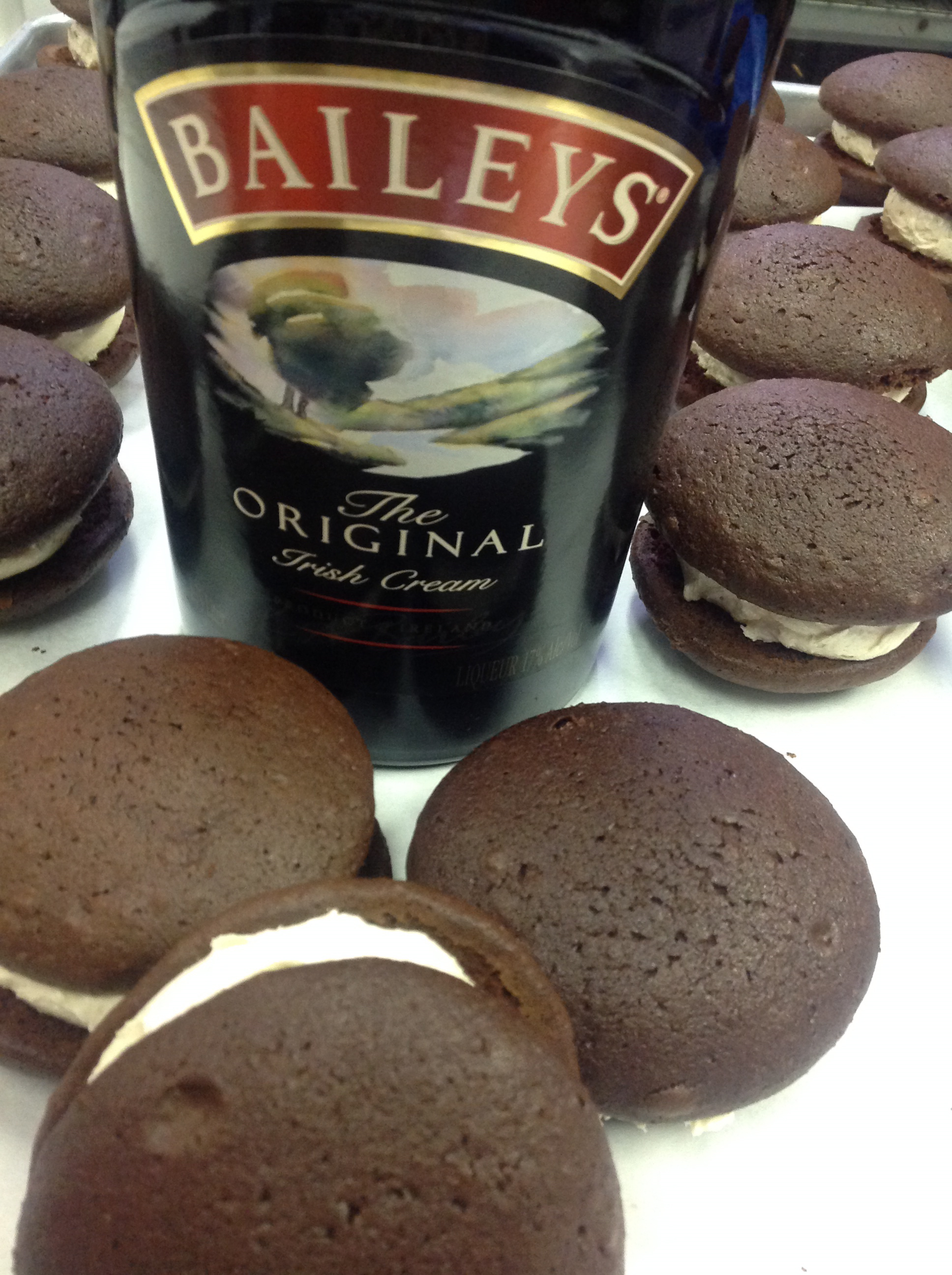 Baileys   Chocolate cookie with Bailey's Irish Cream filling