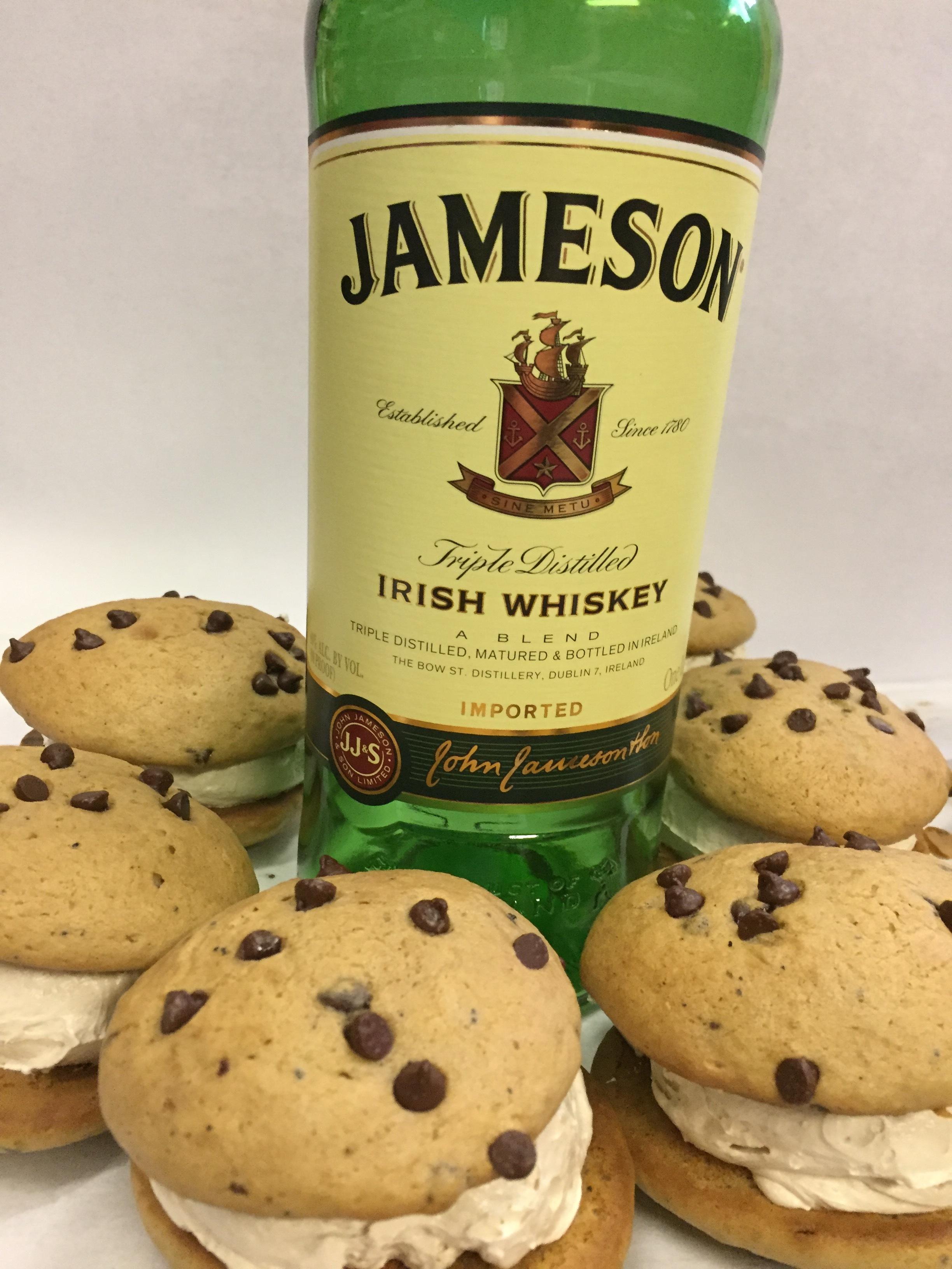 Irish Coffee   Coffee chocolate chip cookie Jameson filling
