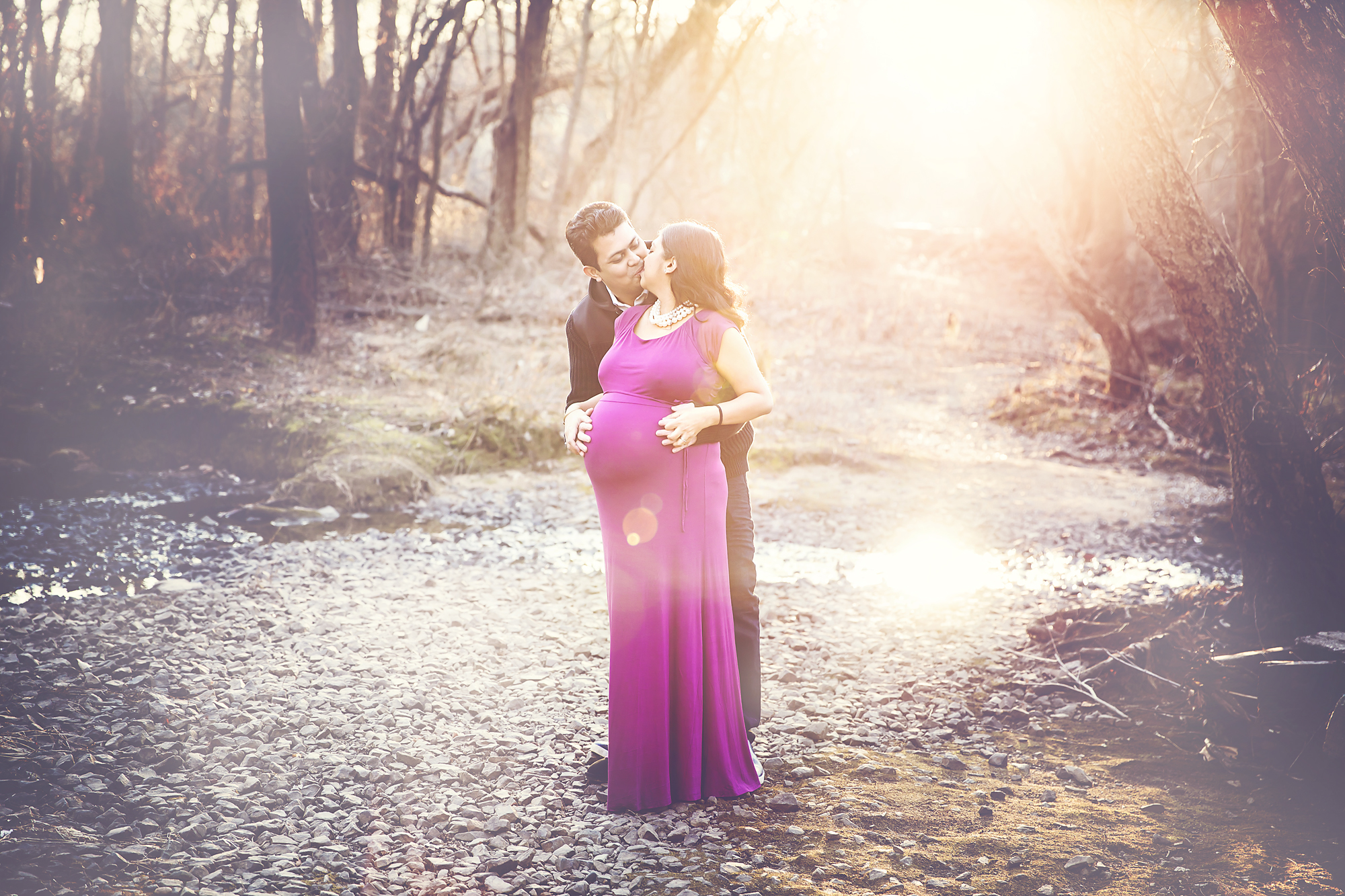 Newborn and Maternity Photography Outdoor Shoot