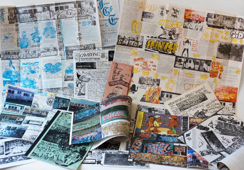 Samuel Kleiman – Collection of vintage graffiti 'zines 001.jpg