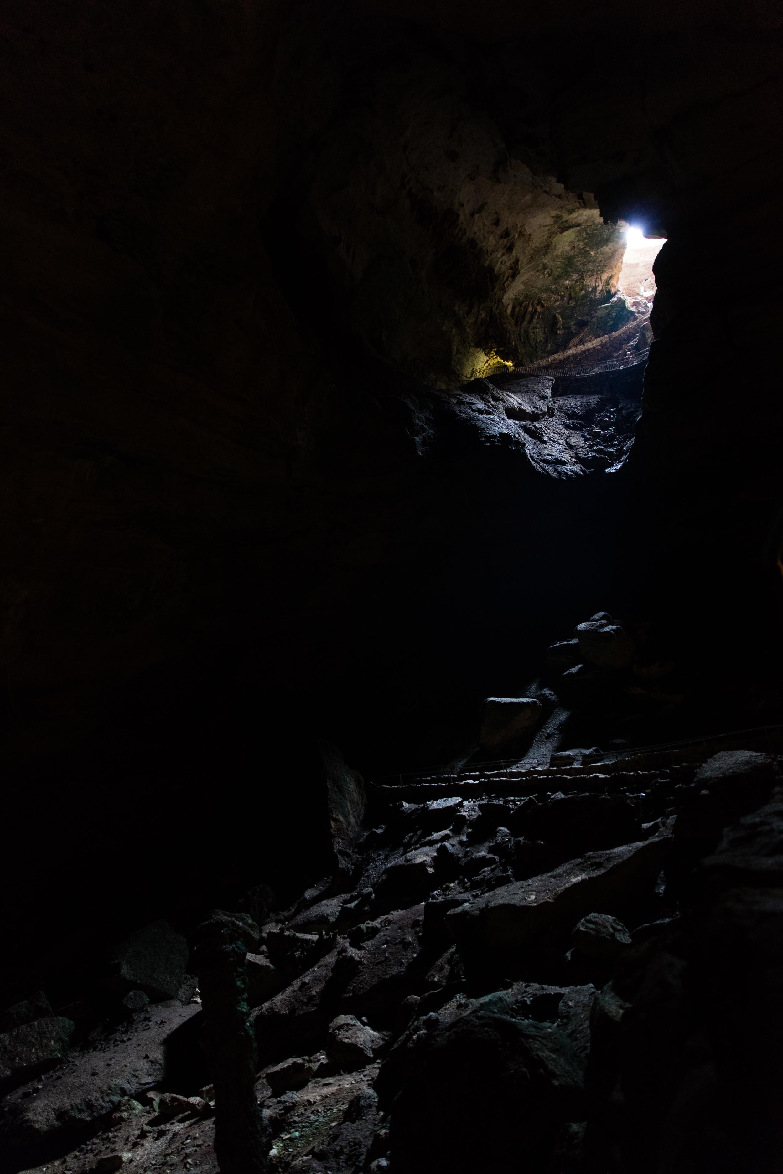 Natural Entrance Carlsbad Caverns