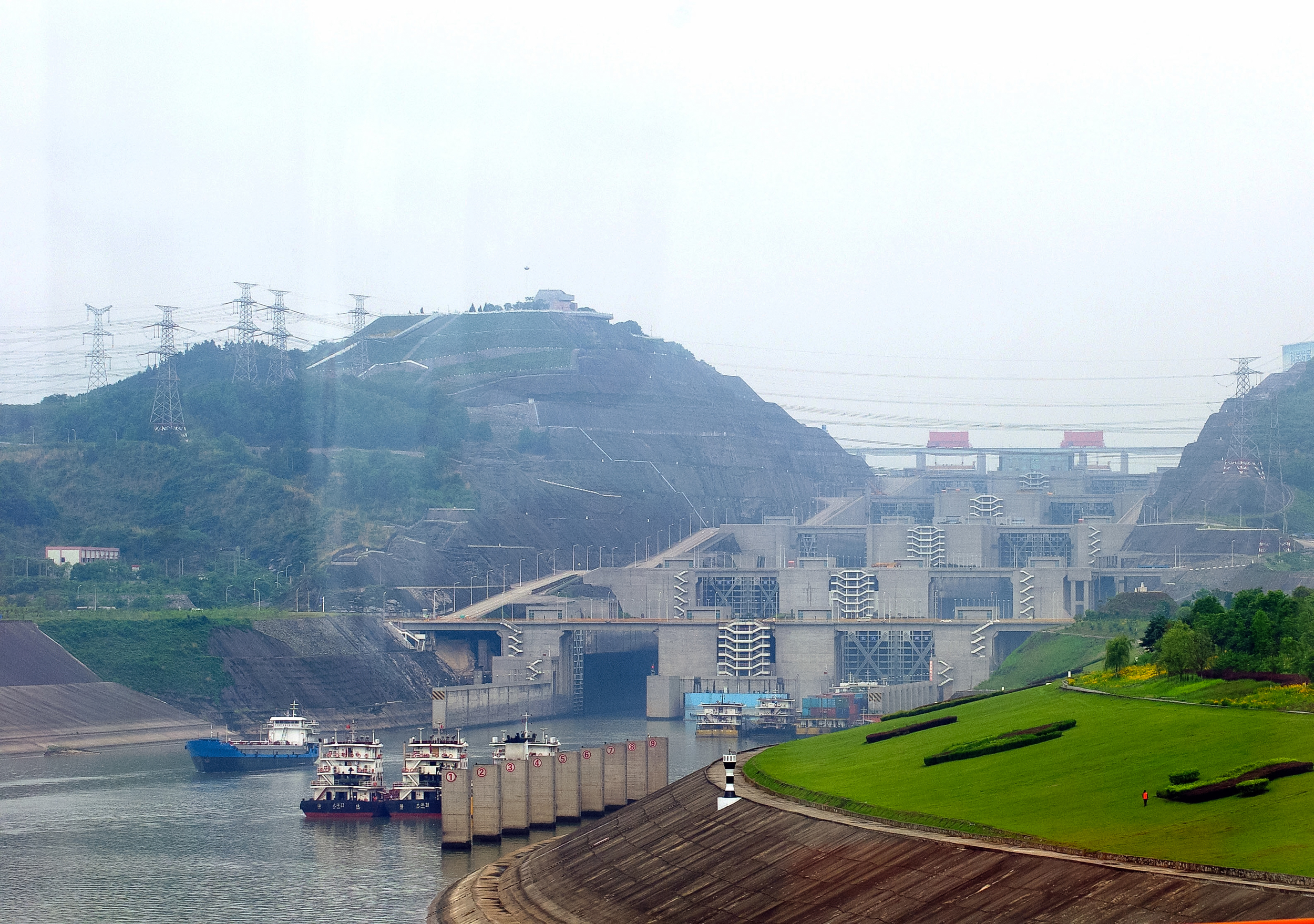 Three Gorges Dam, YiChang, China