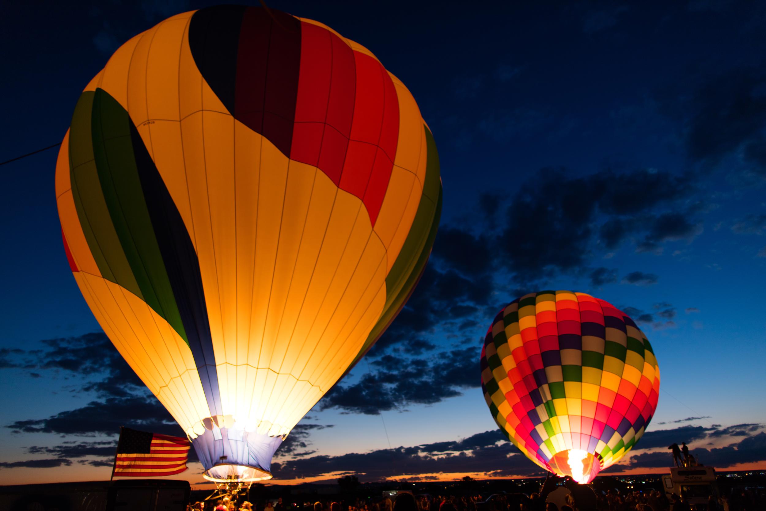 Evening Glow, Albuquerque, New Mexico