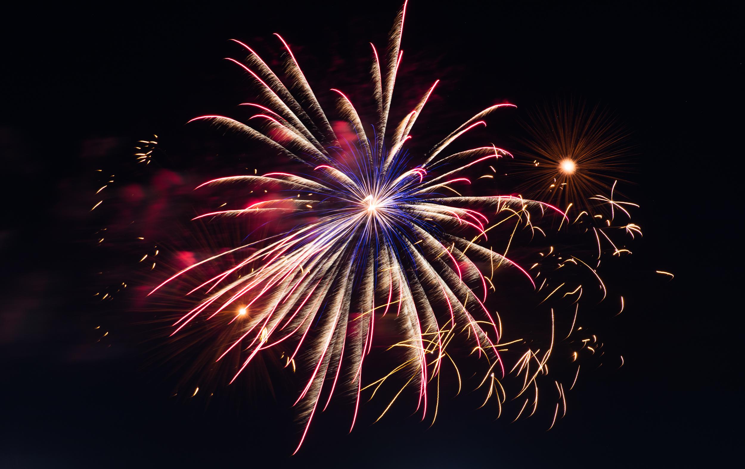 Firework Show, Albuquerque, New Mexico