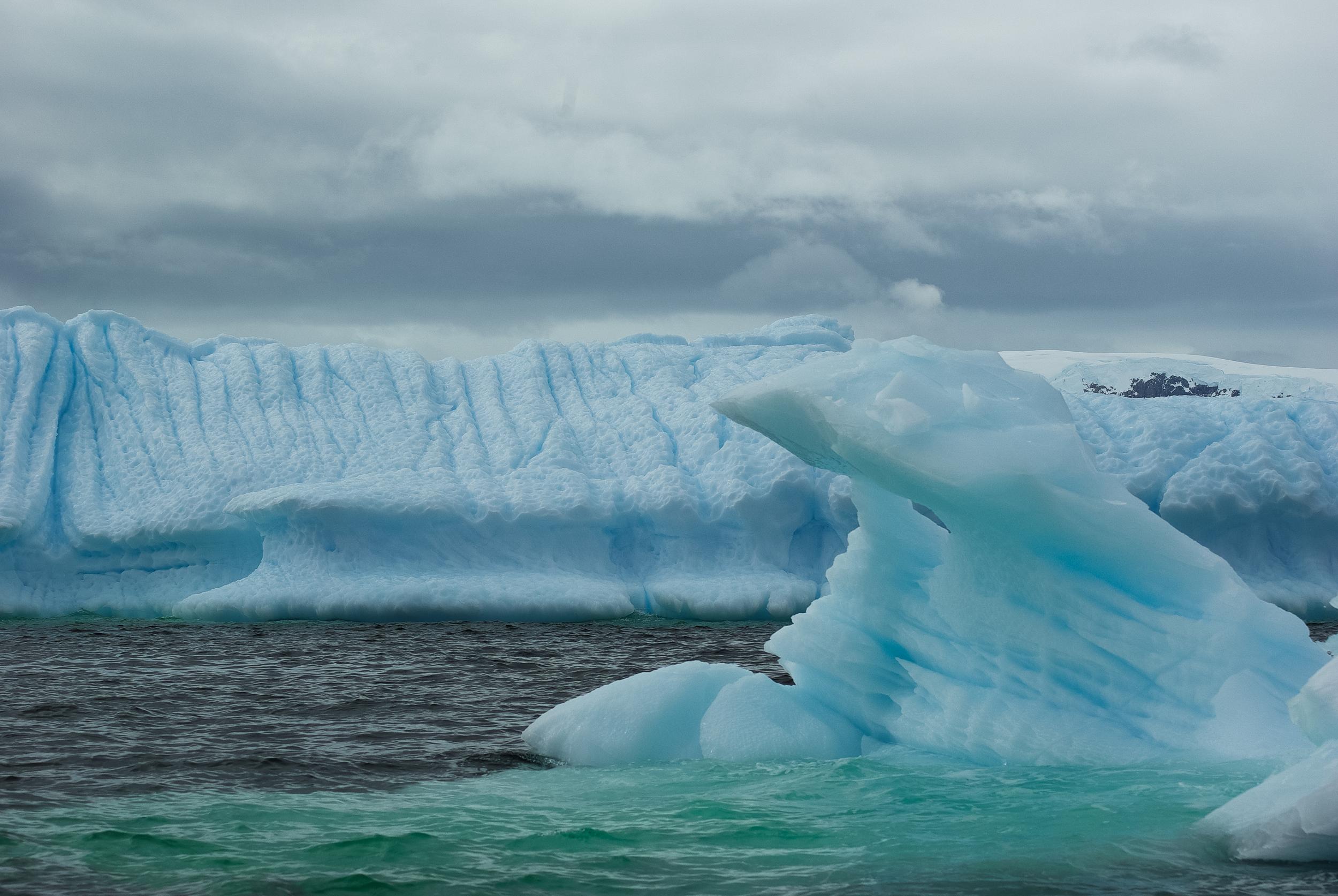 Ice Sculpture, Shetland Islands, Antarctica
