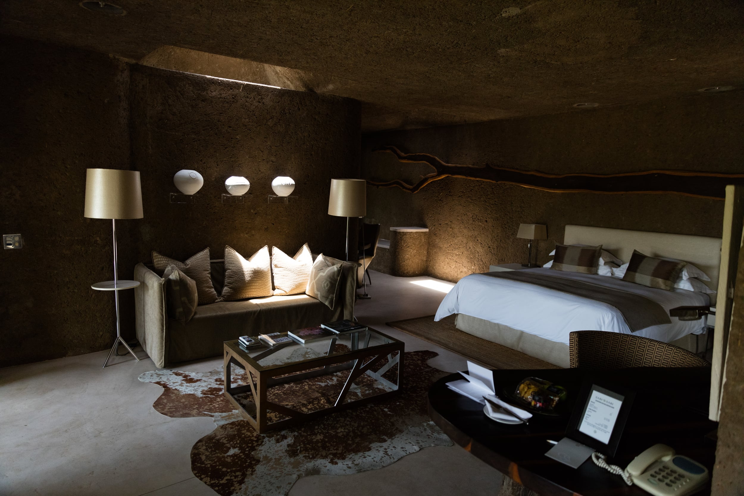 Earth Lodge, Sabi Sabi, Kruger National Park, South Africa