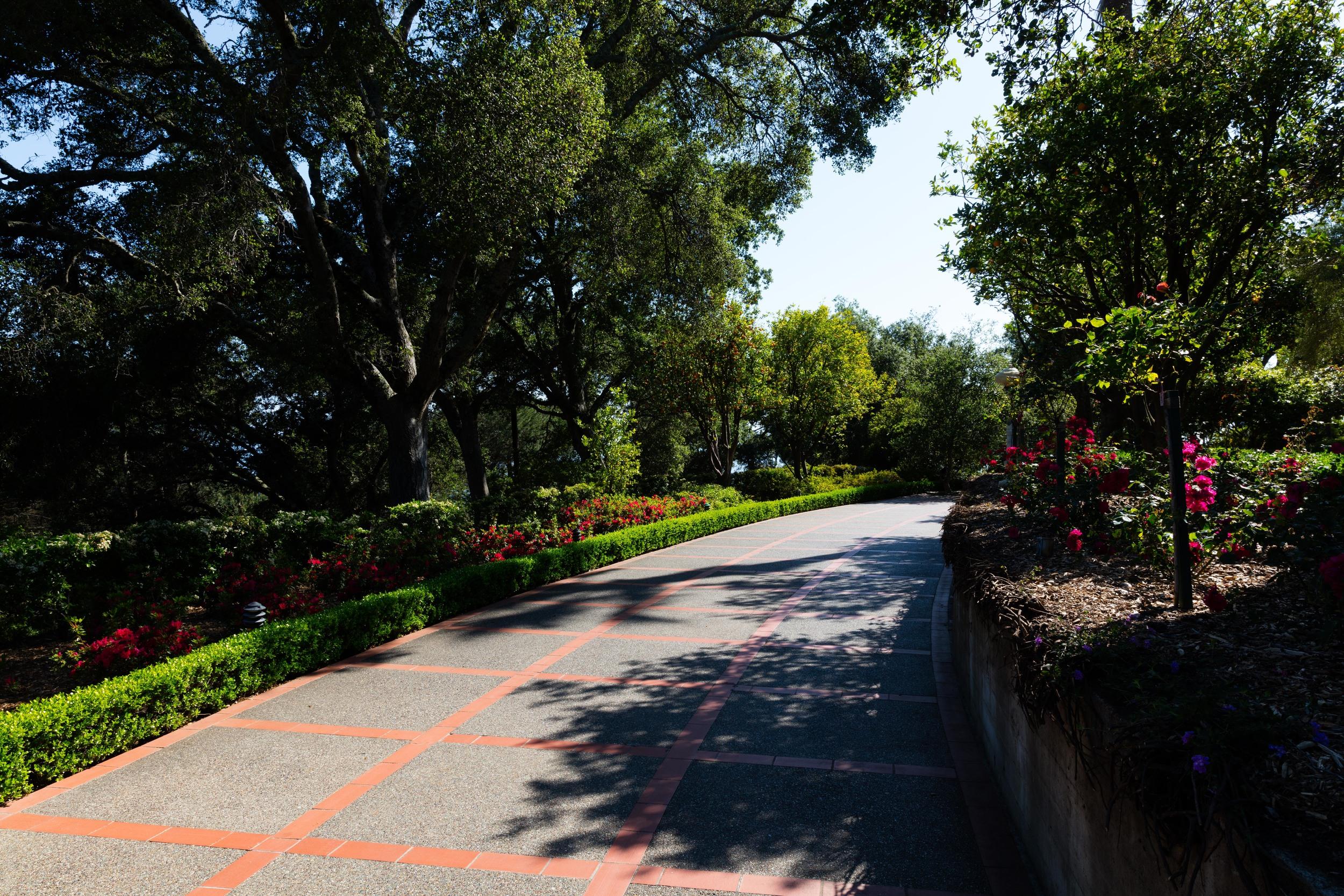 The Gardens, Hearst Castle