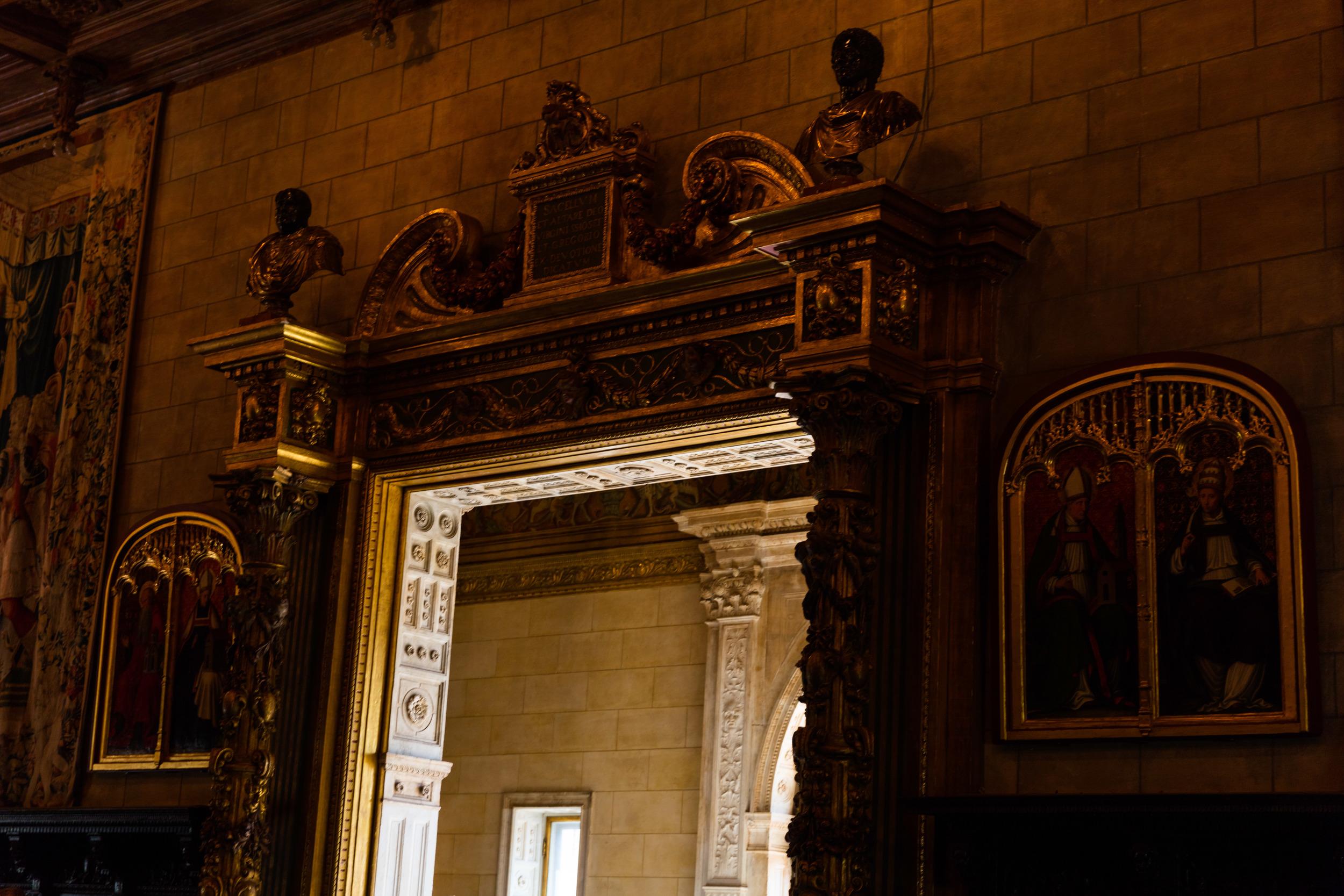 Social Rooms, Casa Grande, Hearst Castle