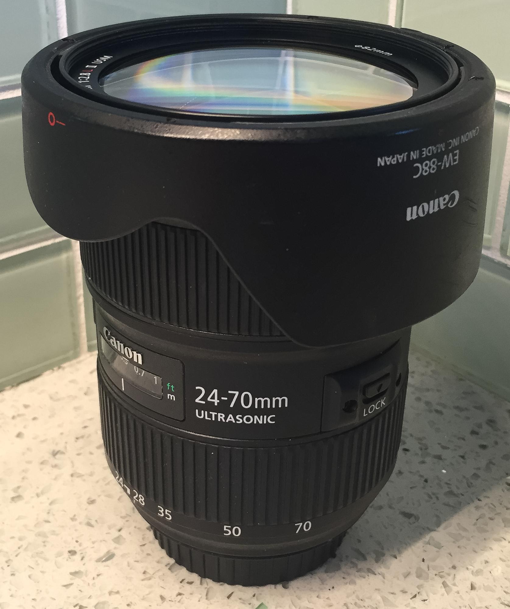Canon EF 24-70mm ƒ2.8 L II USM Lens