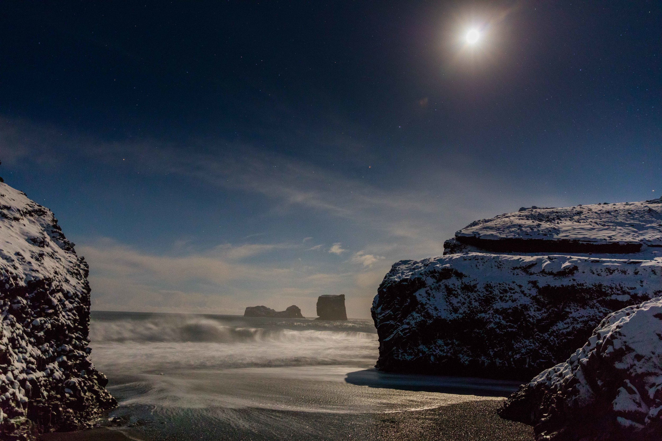 Black Sand Beach of Reynisfjara, Iceland