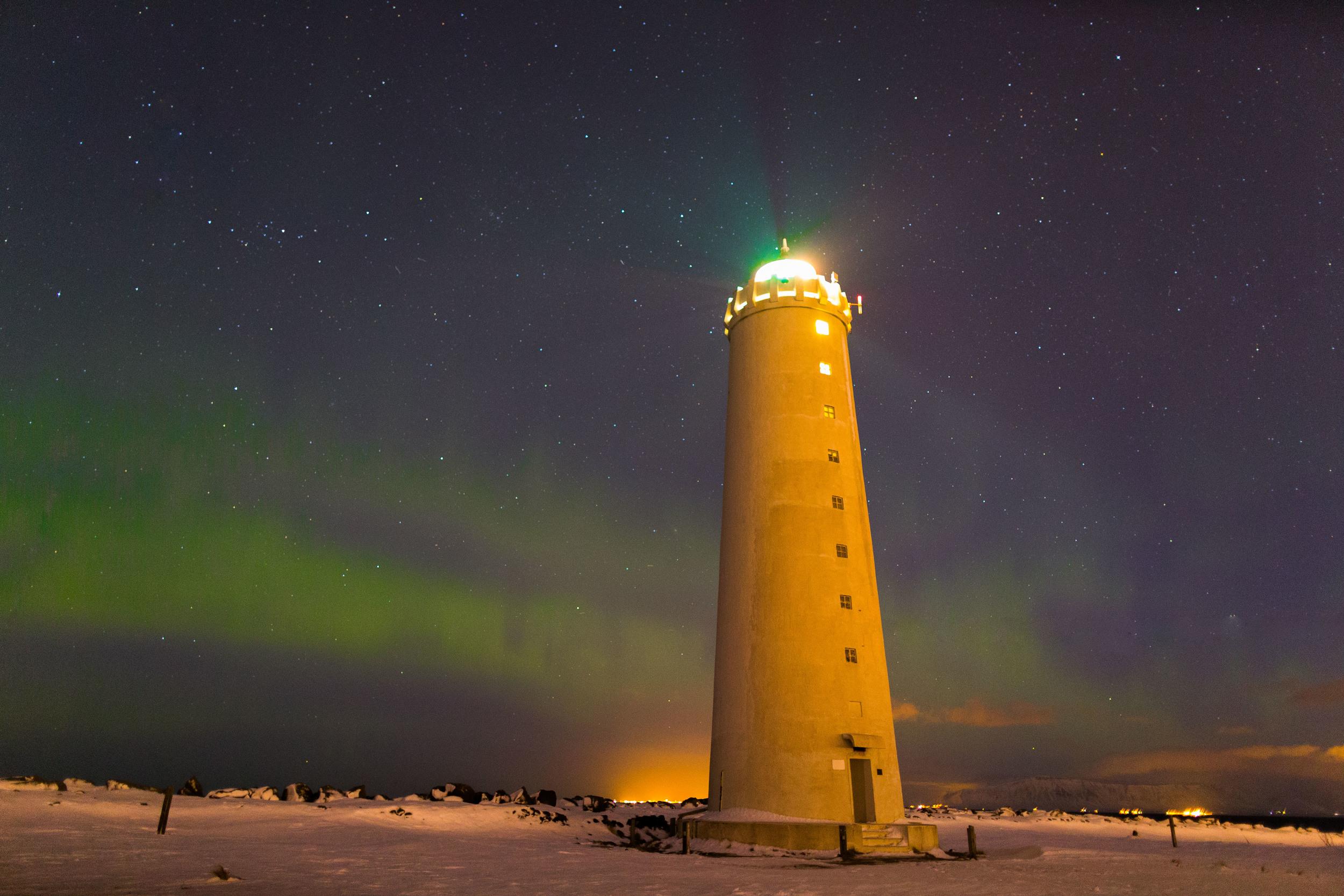 Grotta Lighthouse,Reykjavik, Iceland