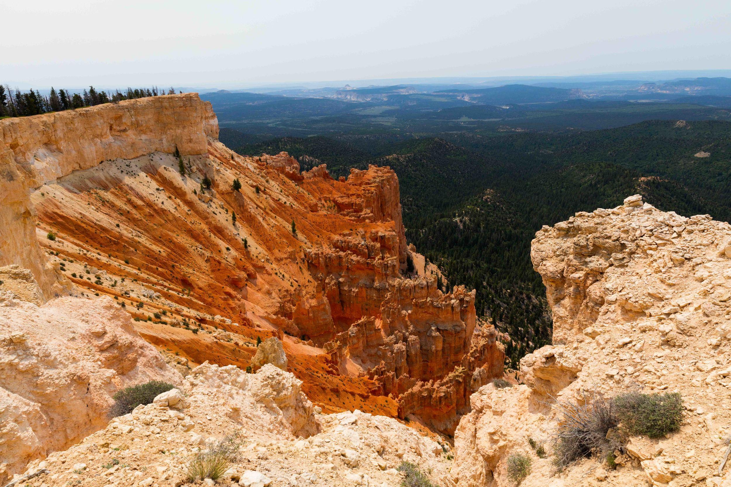 Yovimpa Point & Rainbow Point, Bryce Canyon