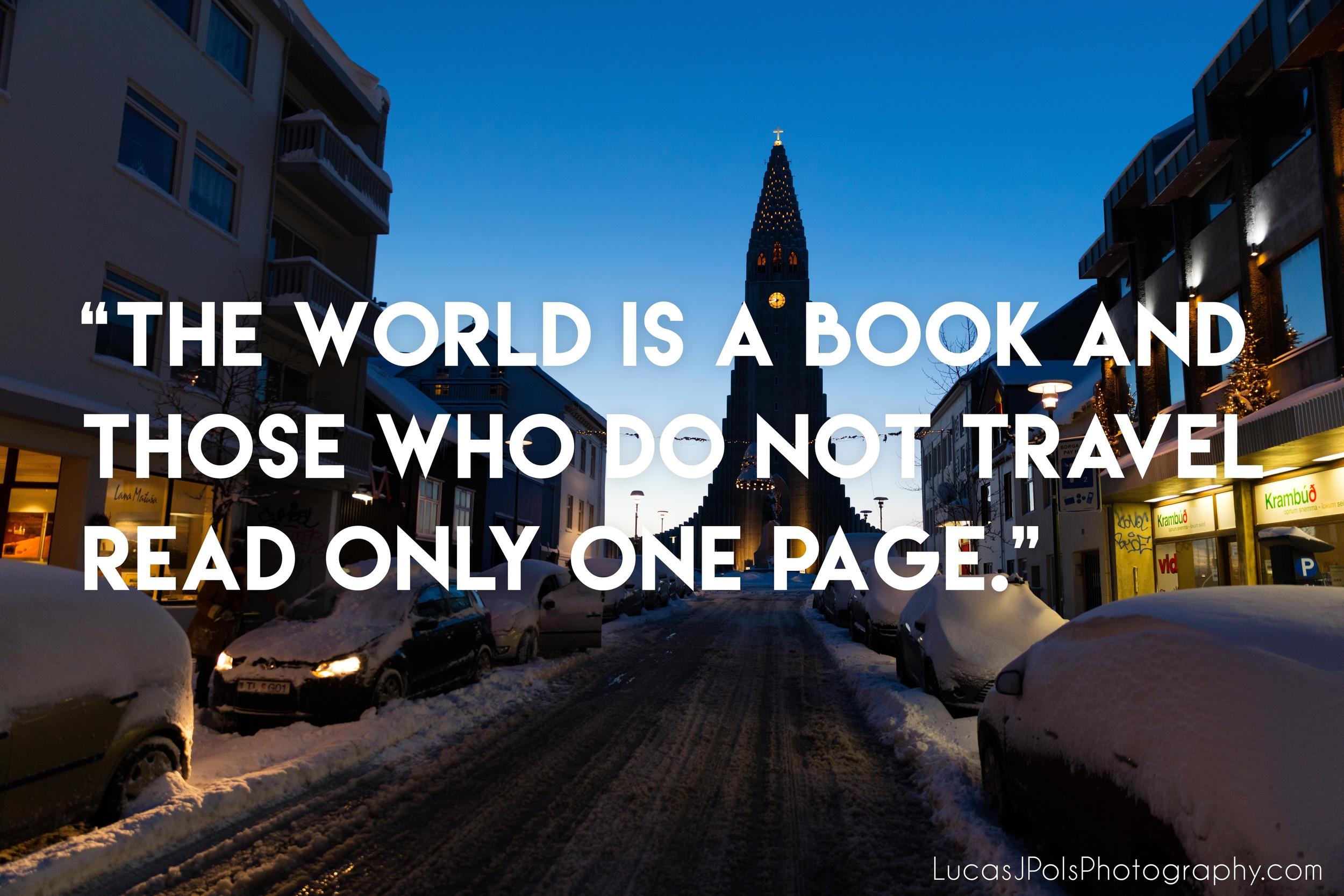 Travel Quote, LucasJPolsPhotography.com