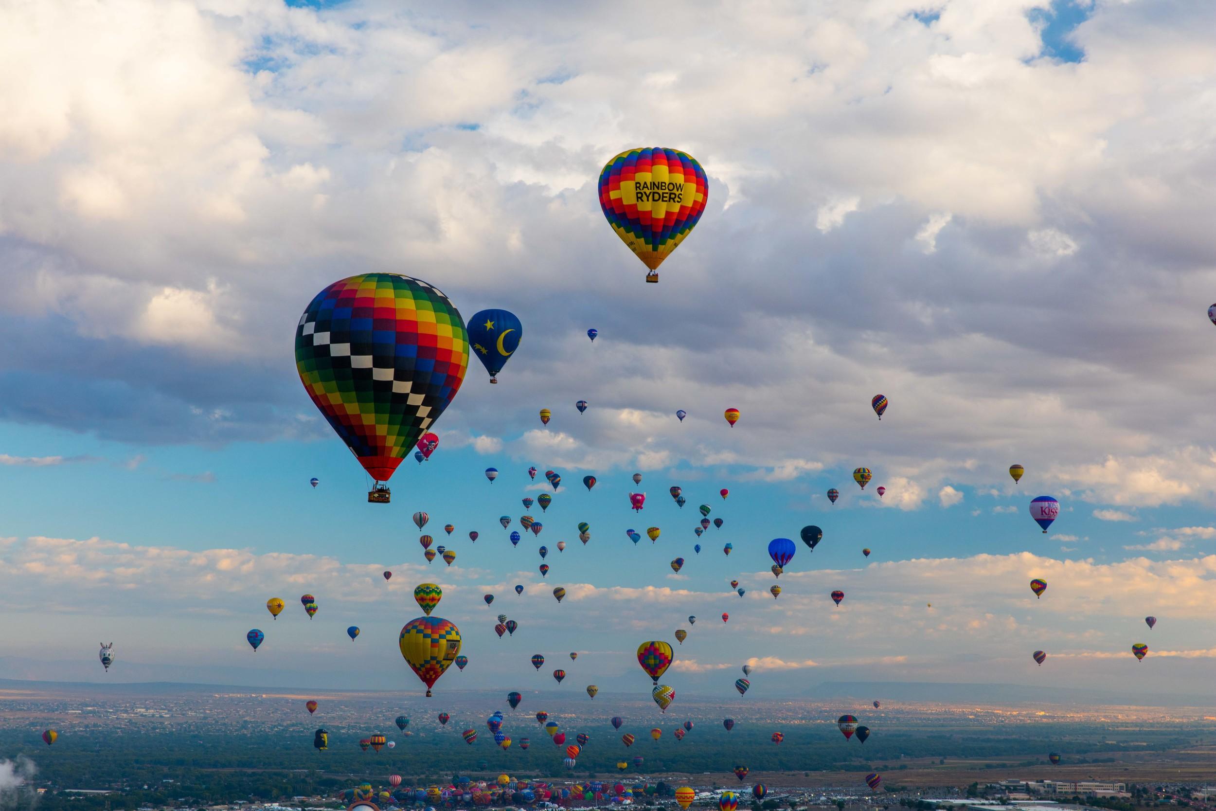 Mass Ascension, Albuquerque, New Mexico