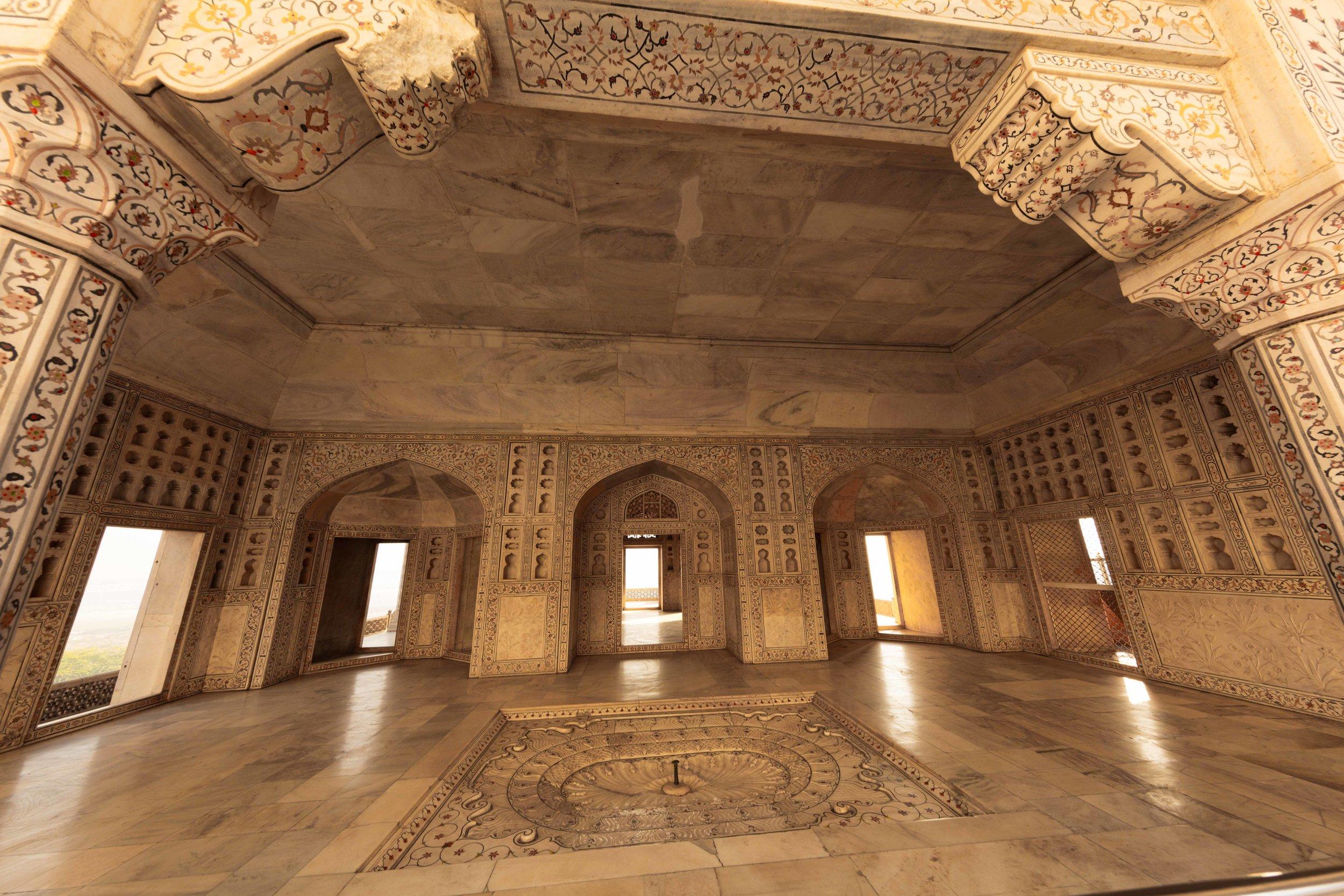 Mussaman Burj, Agra Fort