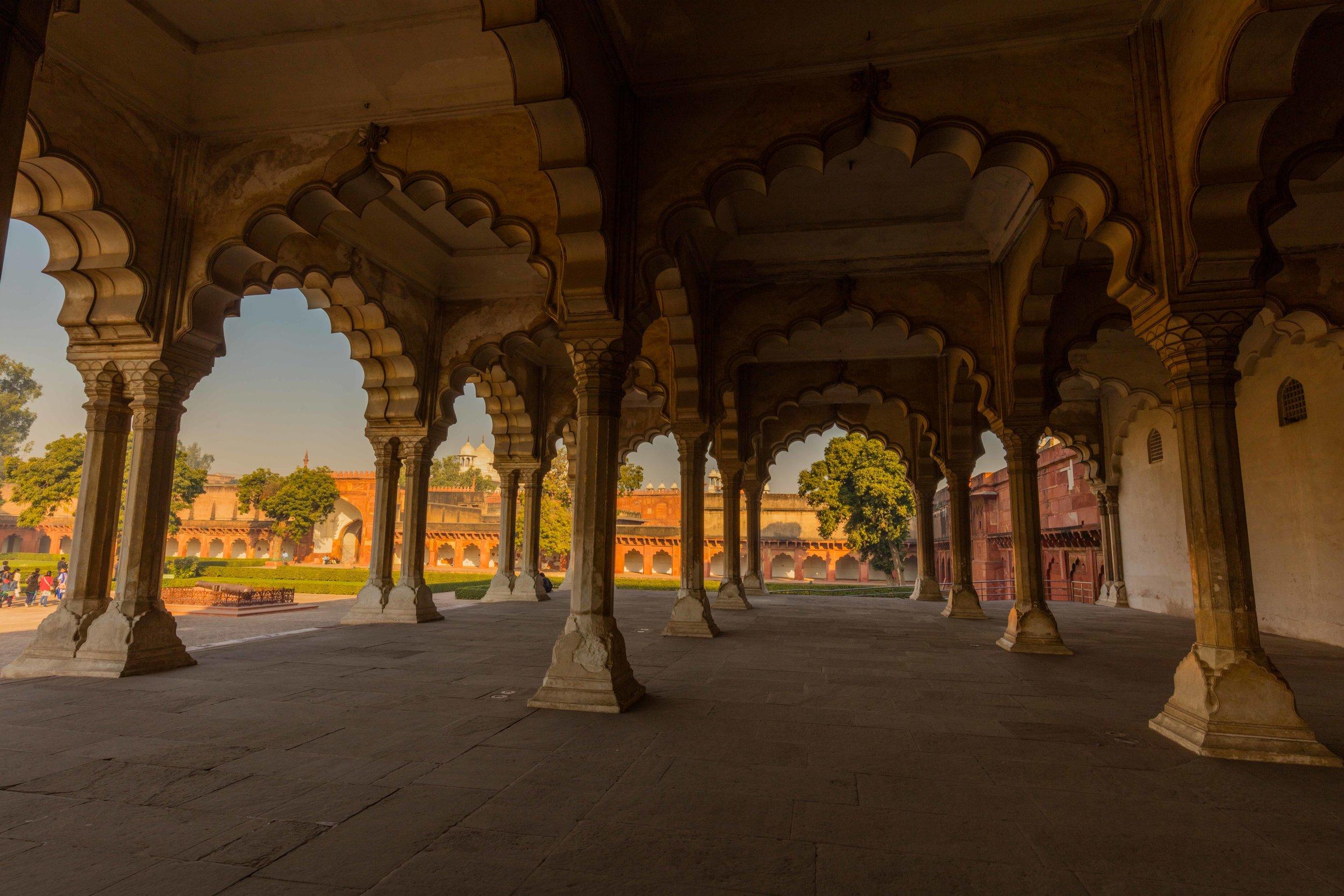 Diwan-i-Am, Agra Fort