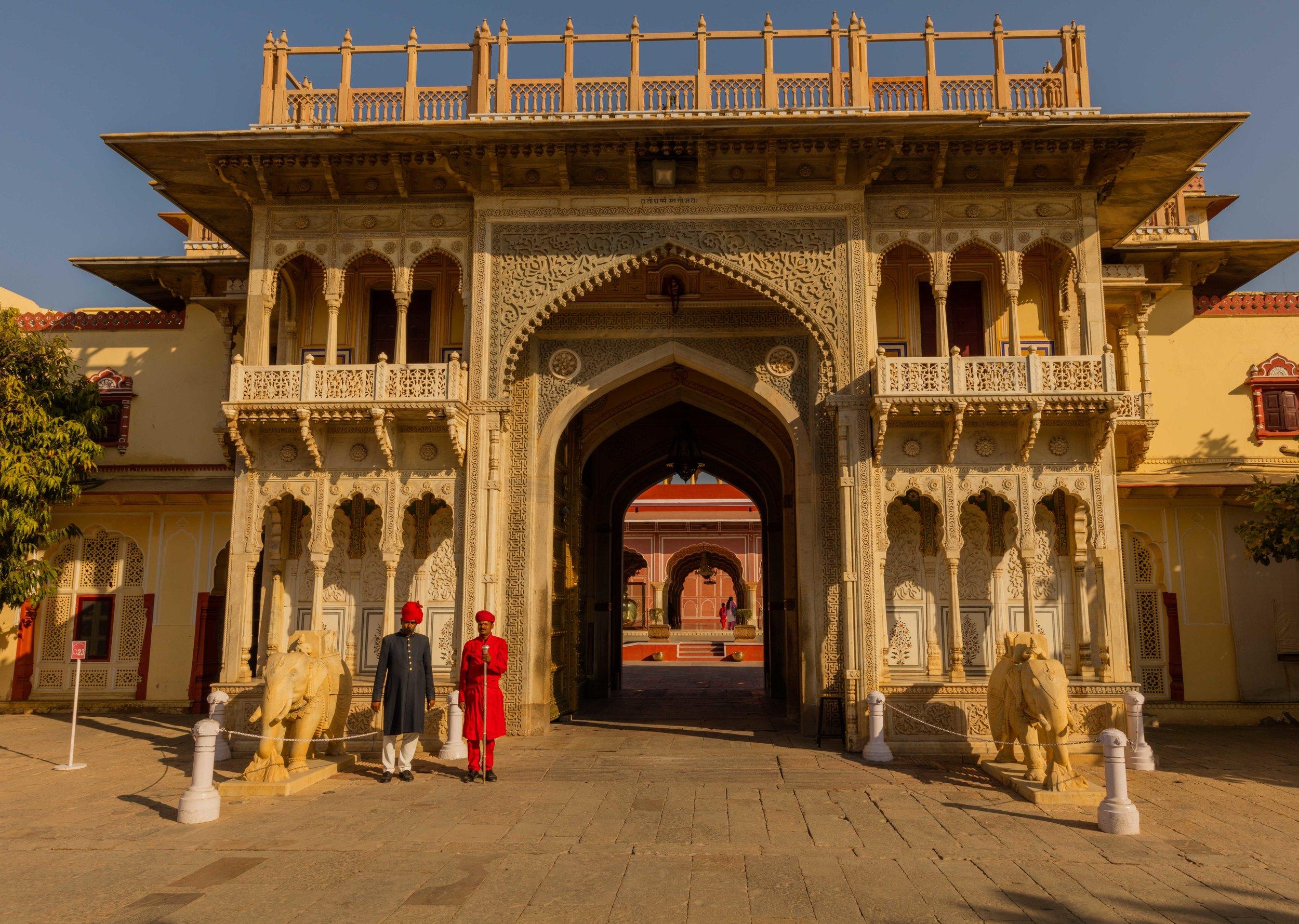 Entrance Gate, City Palace, Jaipur