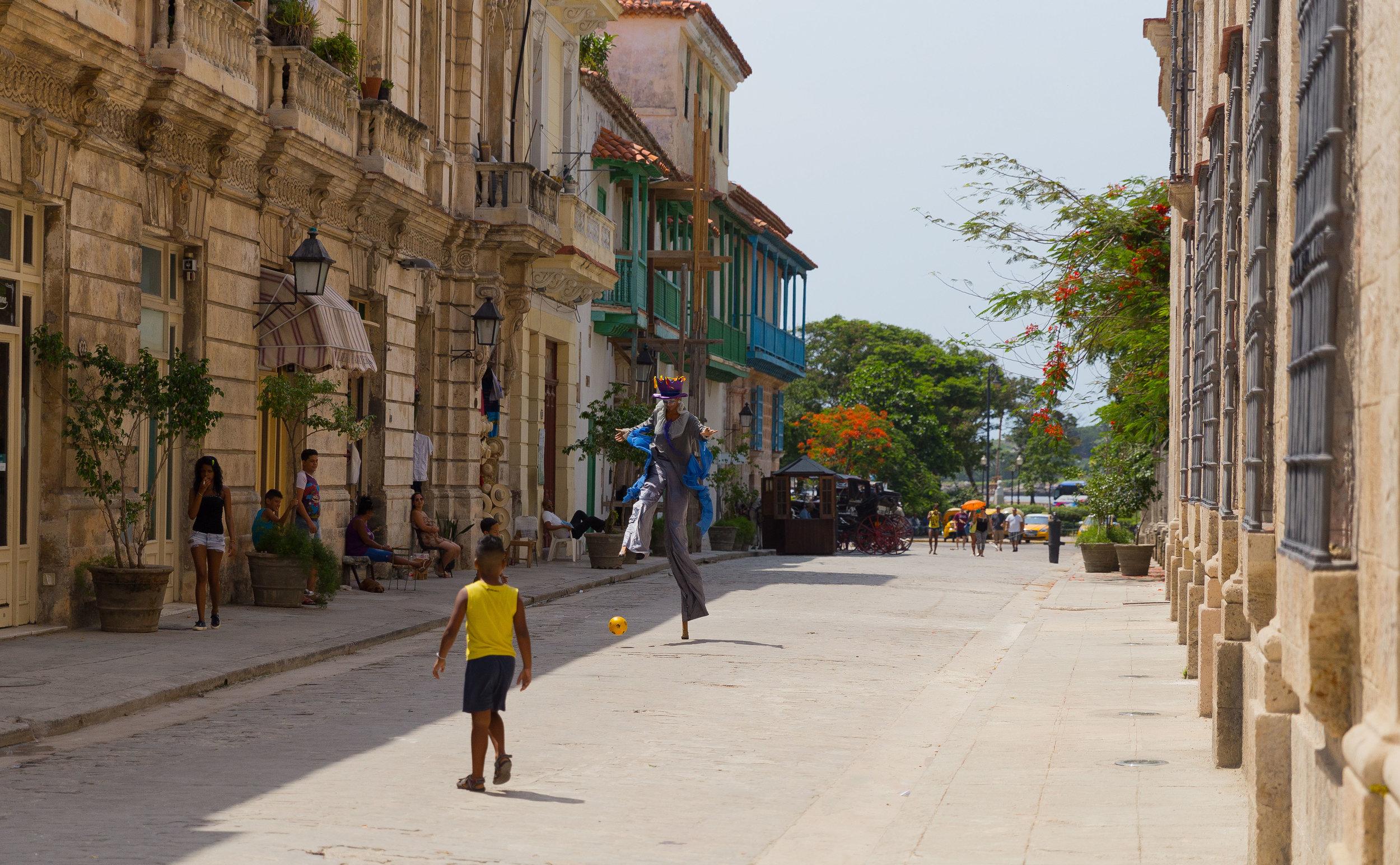Street fun, Havana, Cuba