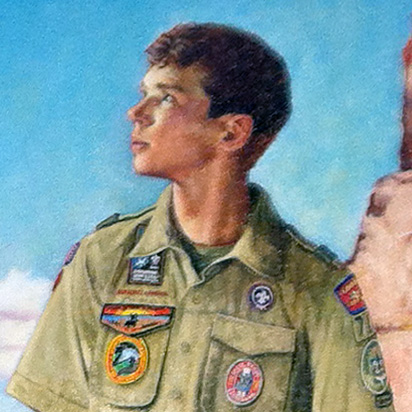 """100 Years of Eagle Scouts"" by Joseph Csatari"