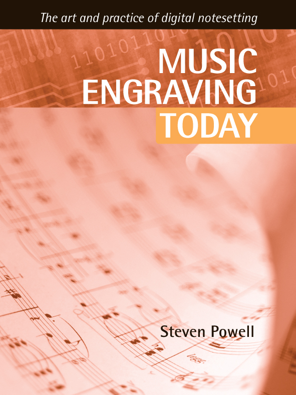 Music Engraving Today Cover