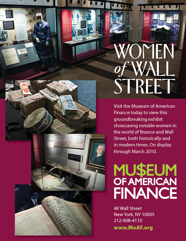 Museum of American Finance Ad