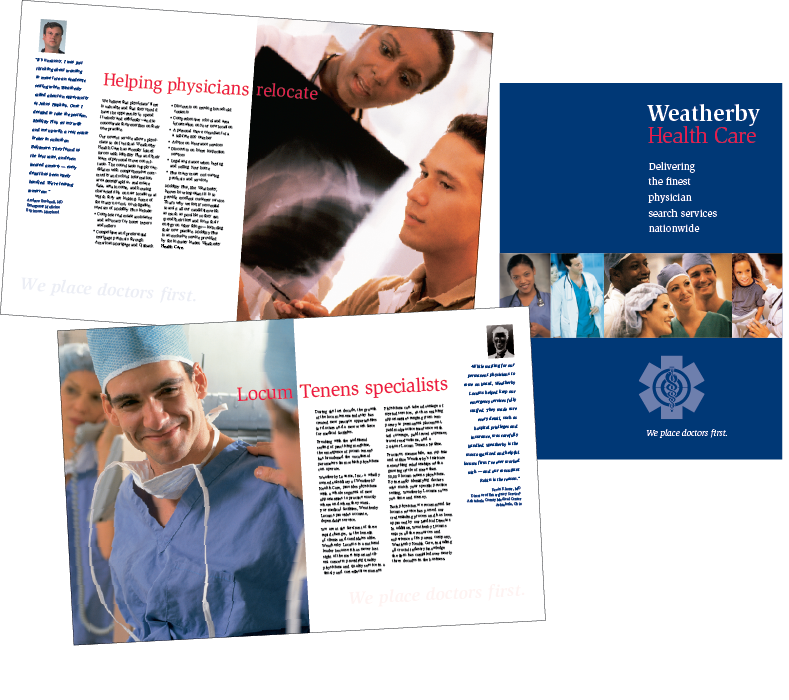 Weatherby Health Care Brochure