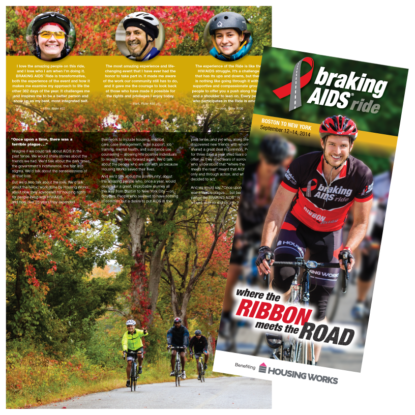 Braking AIDS Ride Brochure