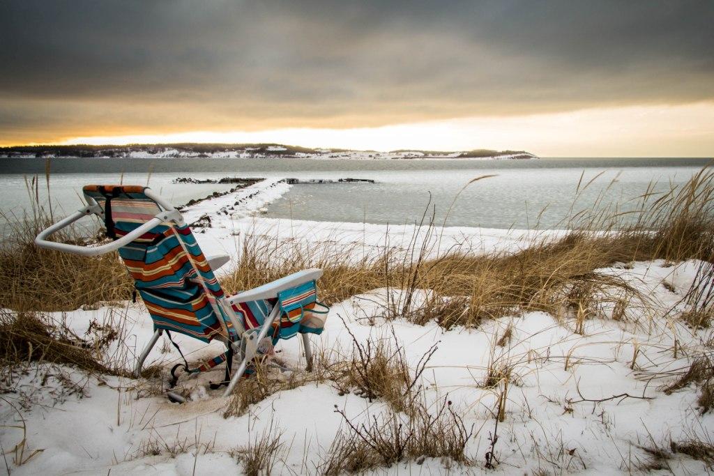 PHOTO OF PORT HOOD BEACH:  STEVE RANKIN
