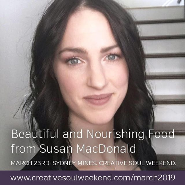 Eat like a queen at the Mini CSW 👑 . 🍲 Susan will be creating for us a custom food experience inspired by the spring equinox and the event theme of renewal, rebirth and fresh energy. Drawing on Susan's knowledge of nutrition, the seven chakra colours, and complementary flavours, the snack and lunch courses will be not only delicious but vegan and gluten-free! . 👋 MEET SUSAN: Susan is a culinary arts graduate of NSCC Marconi Campus. After years of experience in restaurant and hotel kitchens she now works at Meals on Wheels and A Better Bite Community Kitchen located in Sydney, NS. . Susan's main prerogative is to gather people together with her cooking. She loves to promote intuitive eating and practices a plant based diet, although her cooking ability has a wide range. Recently, her interests have evolved through foraging plants and working with local farms to get the highest quality and most unique flavours available in her region. . ** We can't wait to be spoiled by the beautiful and nourishing food from Susan. If you want to get in on this and spend the day being creative with a group of awesome women you can get your tickets here: www.creativesoulweekend.com/march2019 Link in bio! 🔝