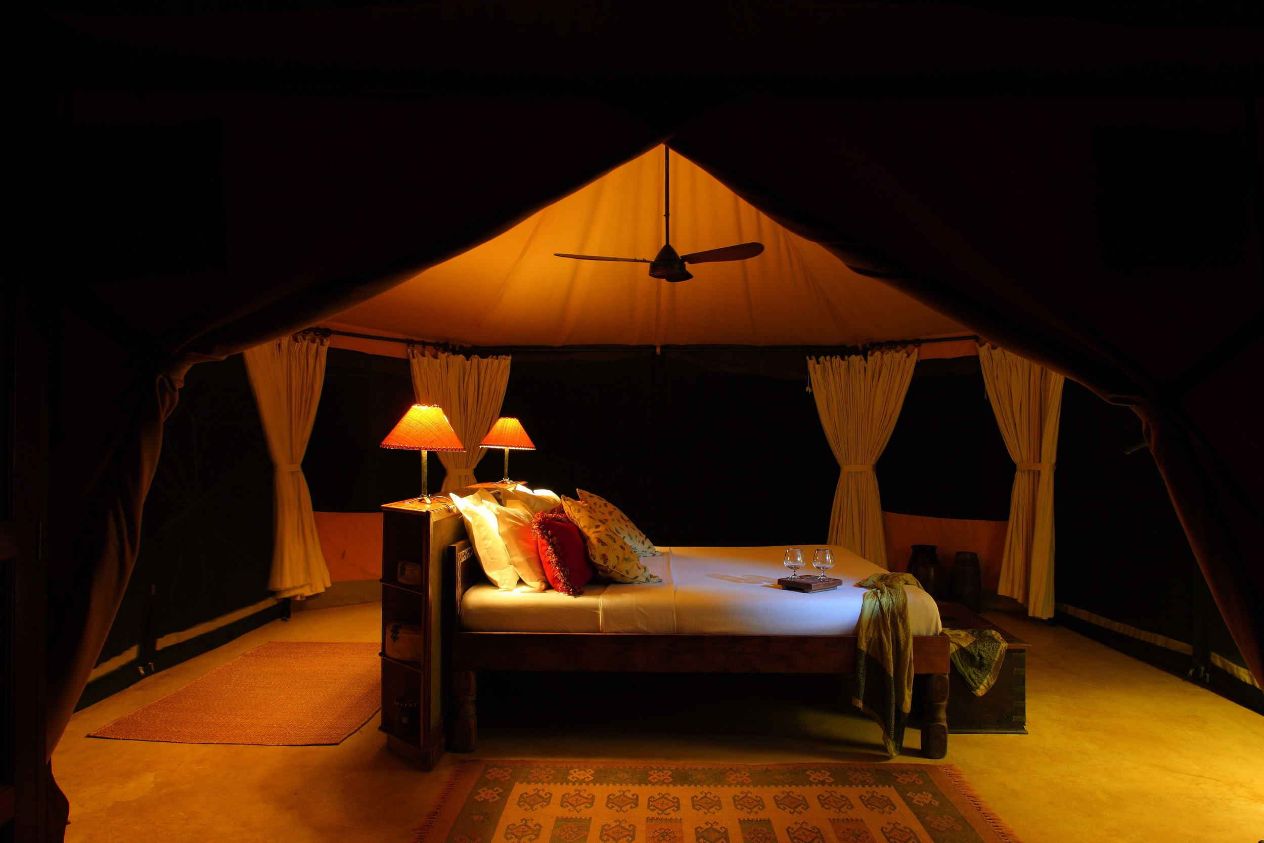 Sleep in cosy tents with the noises of Selous Game Reserve beyond the canvas.jpg