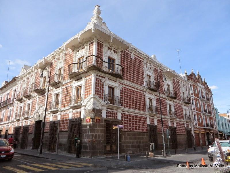 Building in Puebla, Puebla, Mexico