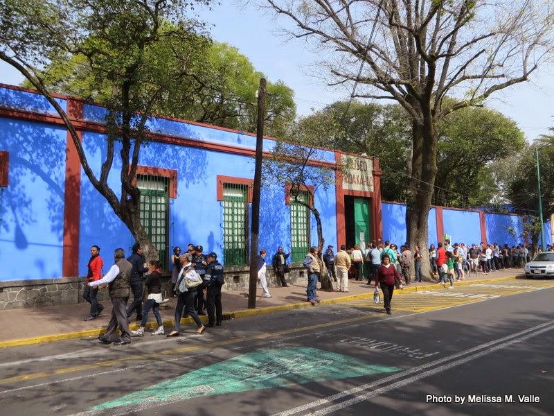 """Outside """"Casa Azul"""""""