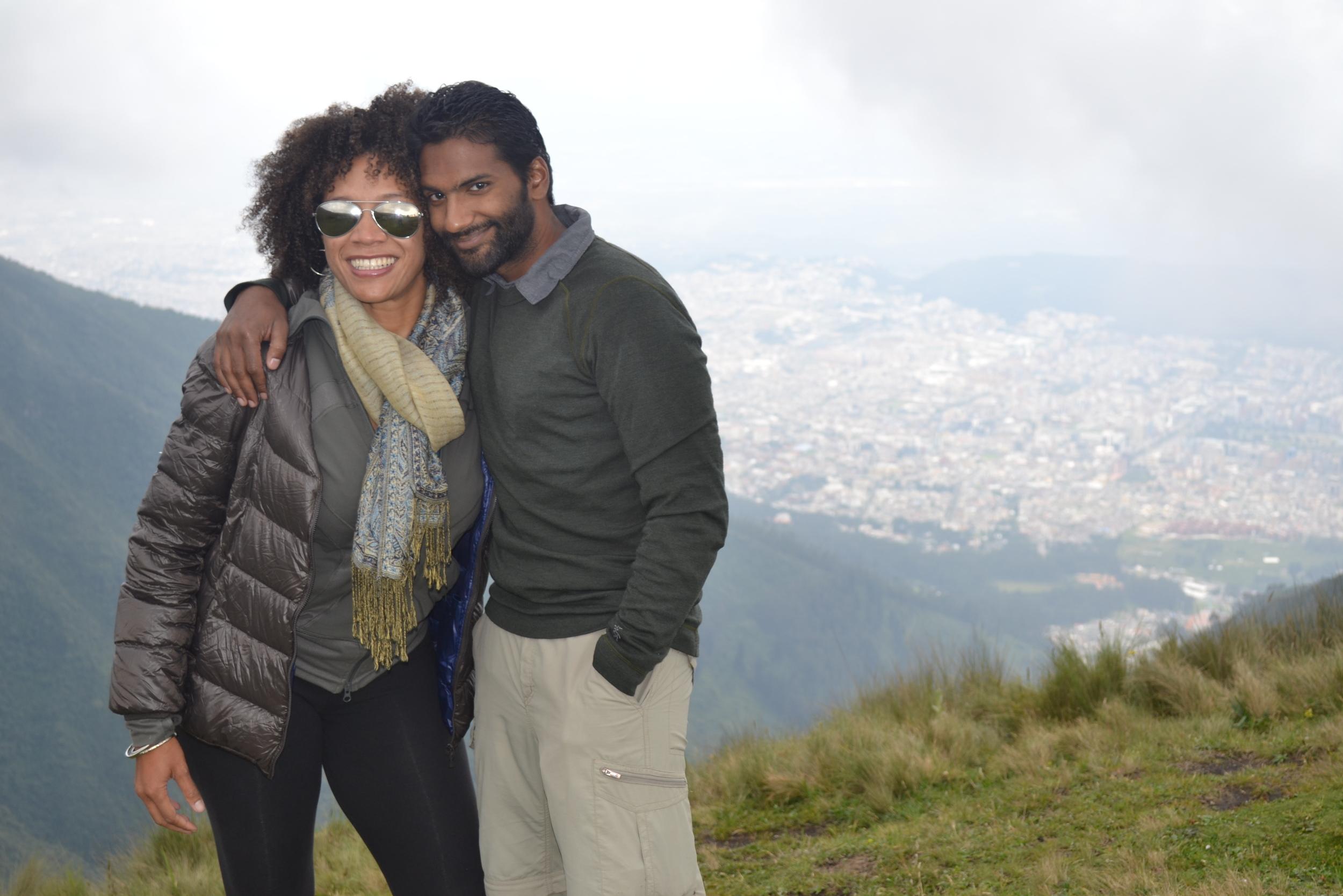 3.26.14 Quito, Ecuador- Teleferiqo with Livia and Rishan (121).JPG