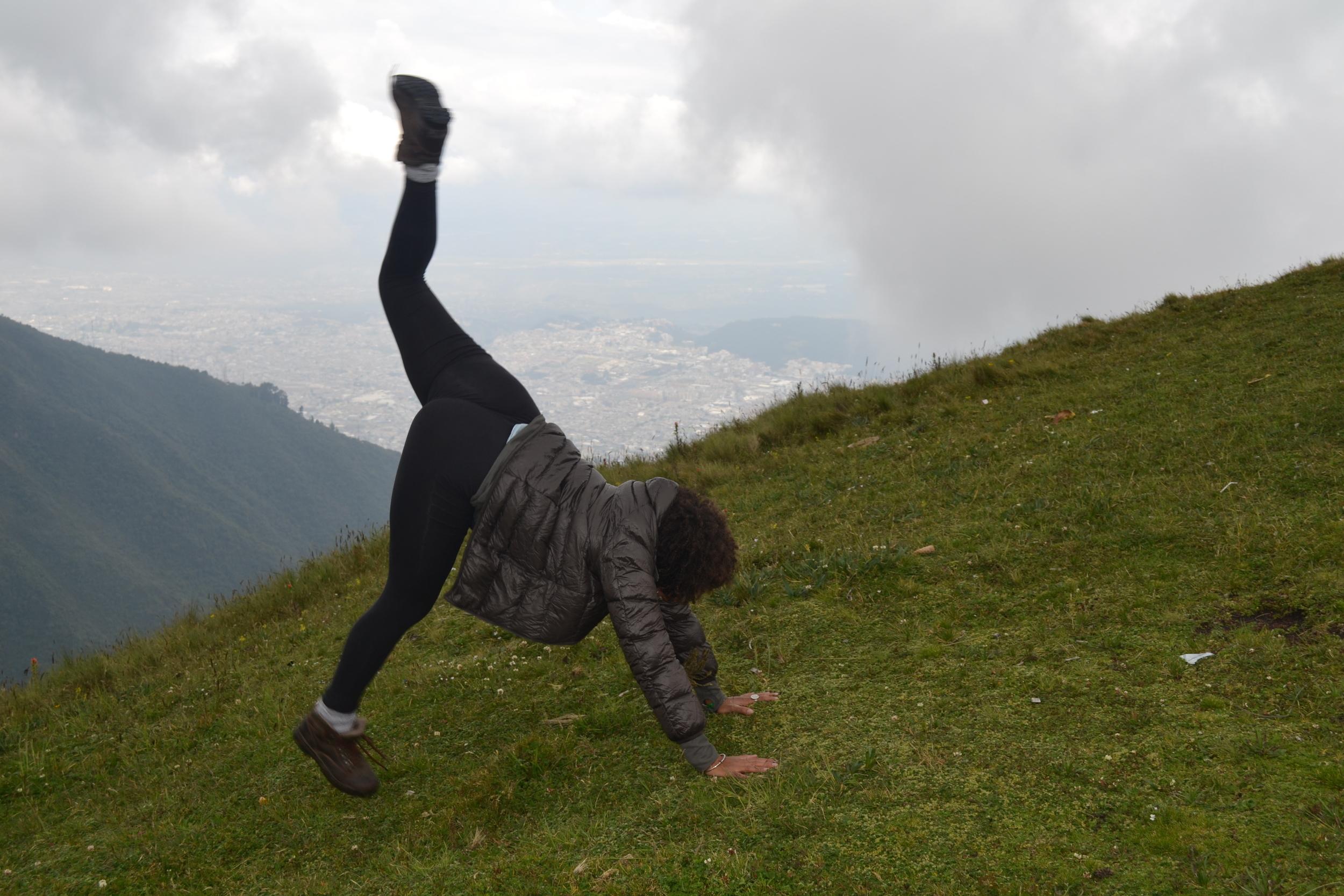 3.26.14 Quito, Ecuador- Teleferiqo with Livia and Rishan (109).JPG