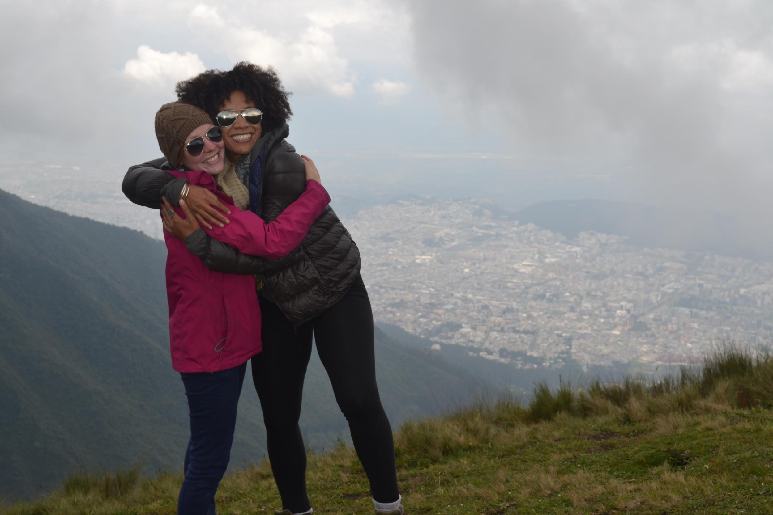 3.26.14 Quito, Ecuador- Teleferiqo with Livia and Rishan (122).JPG