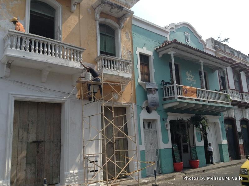 Redevelopment on Calle Media Luna in Cartagena
