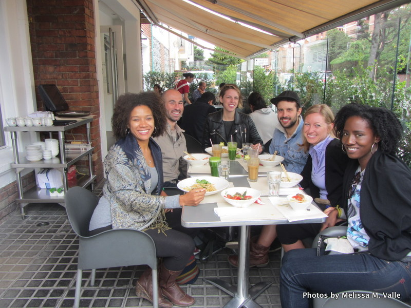 4.25.14. Bogota-Fulbright lunch despedida at Wok (2).JPG
