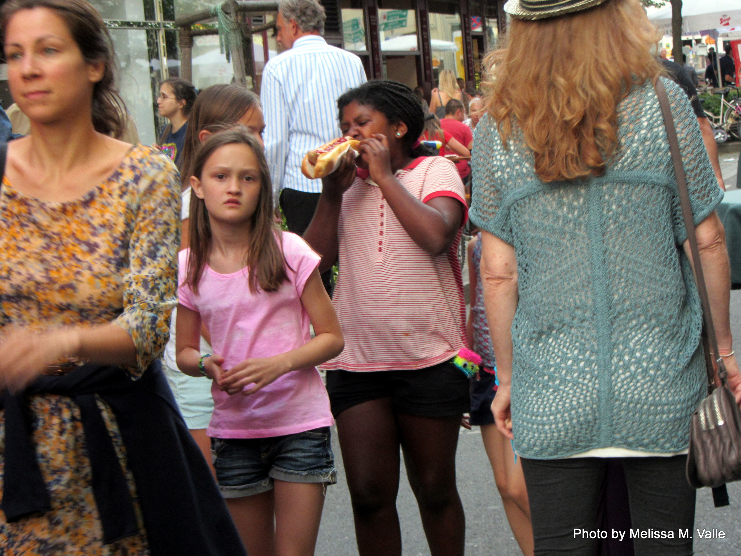 Hey, littleBlack girl in Vienna!