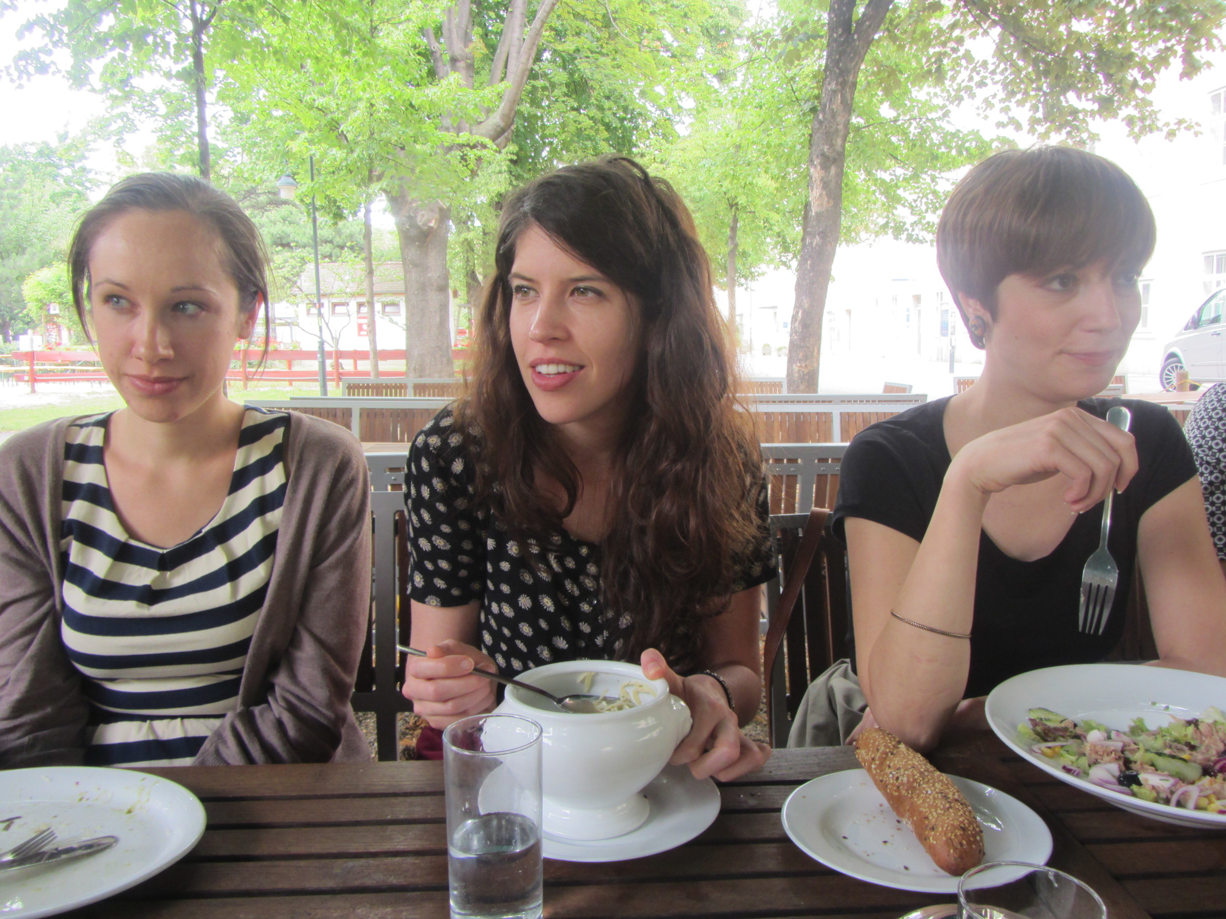 7.5.14 Vienna, Austria- First lunch with group (1).JPG