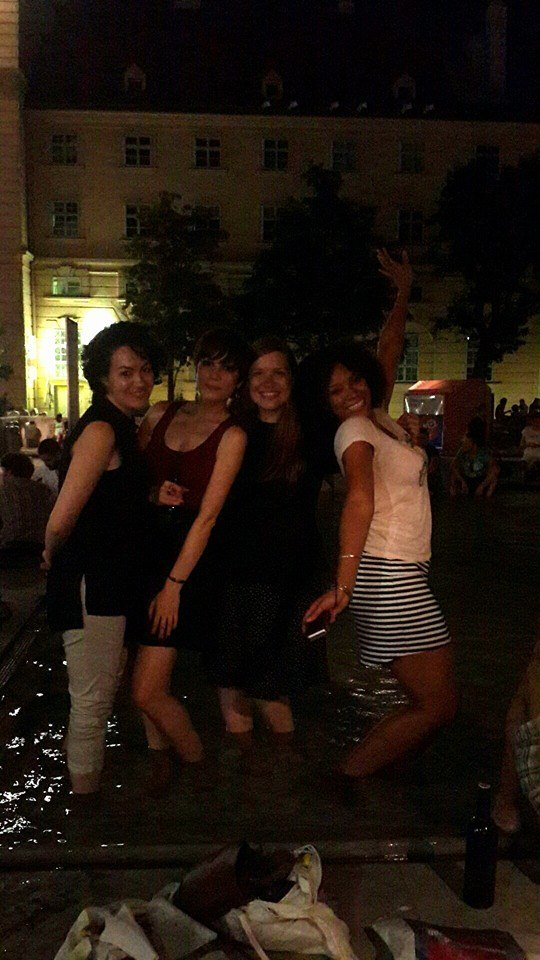 7.7.14 Vienna, Austria-wining it up in Museum Quartier after Amin lecture (5)-001.jpg
