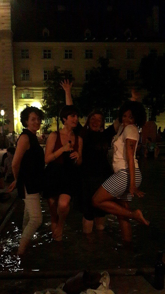 7.7.14 Vienna, Austria-wining it up in Museum Quartier after Amin lecture (6)-001.jpg