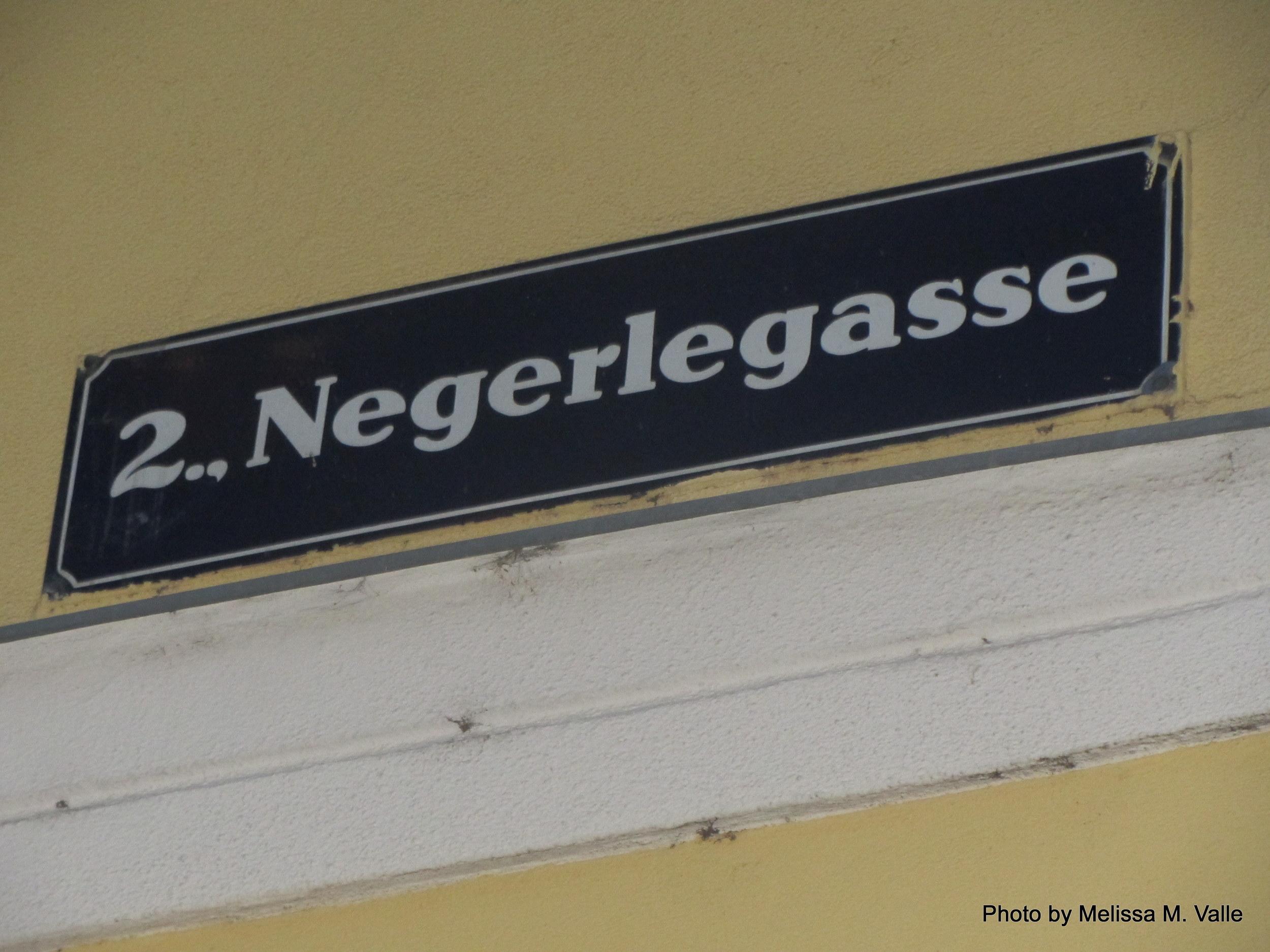 negerlegasse street