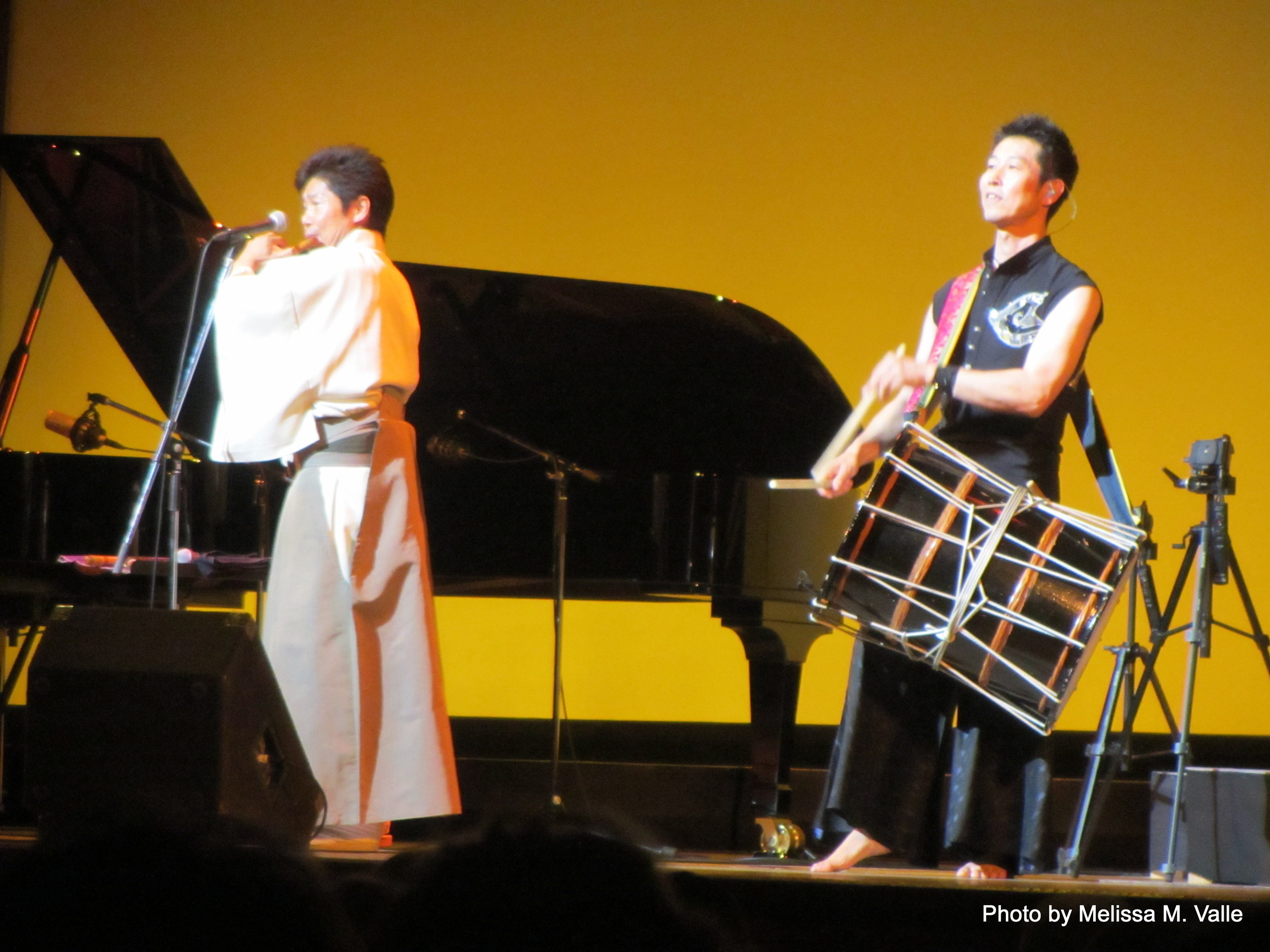 performers at ISA conference in Yokohama, Japan