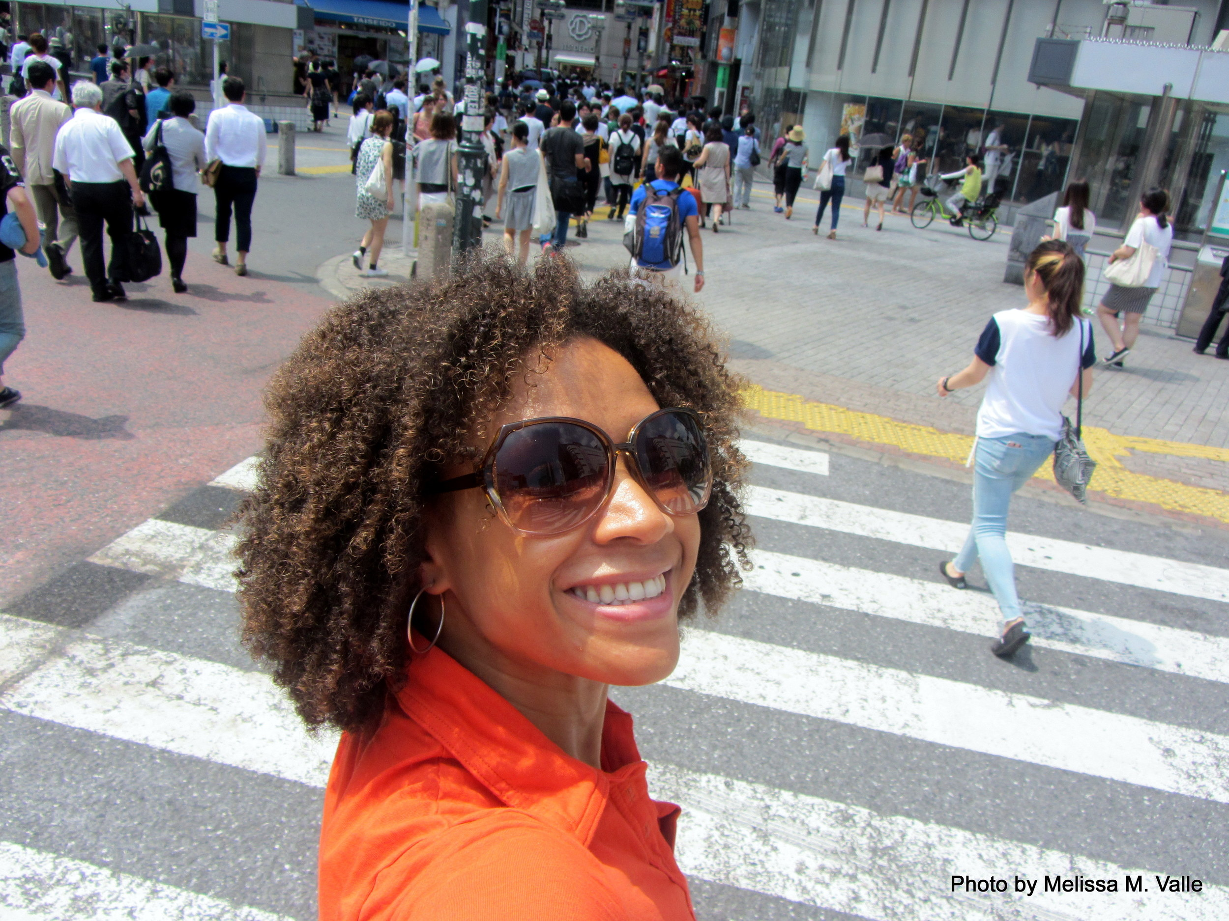 Shibuya selfie