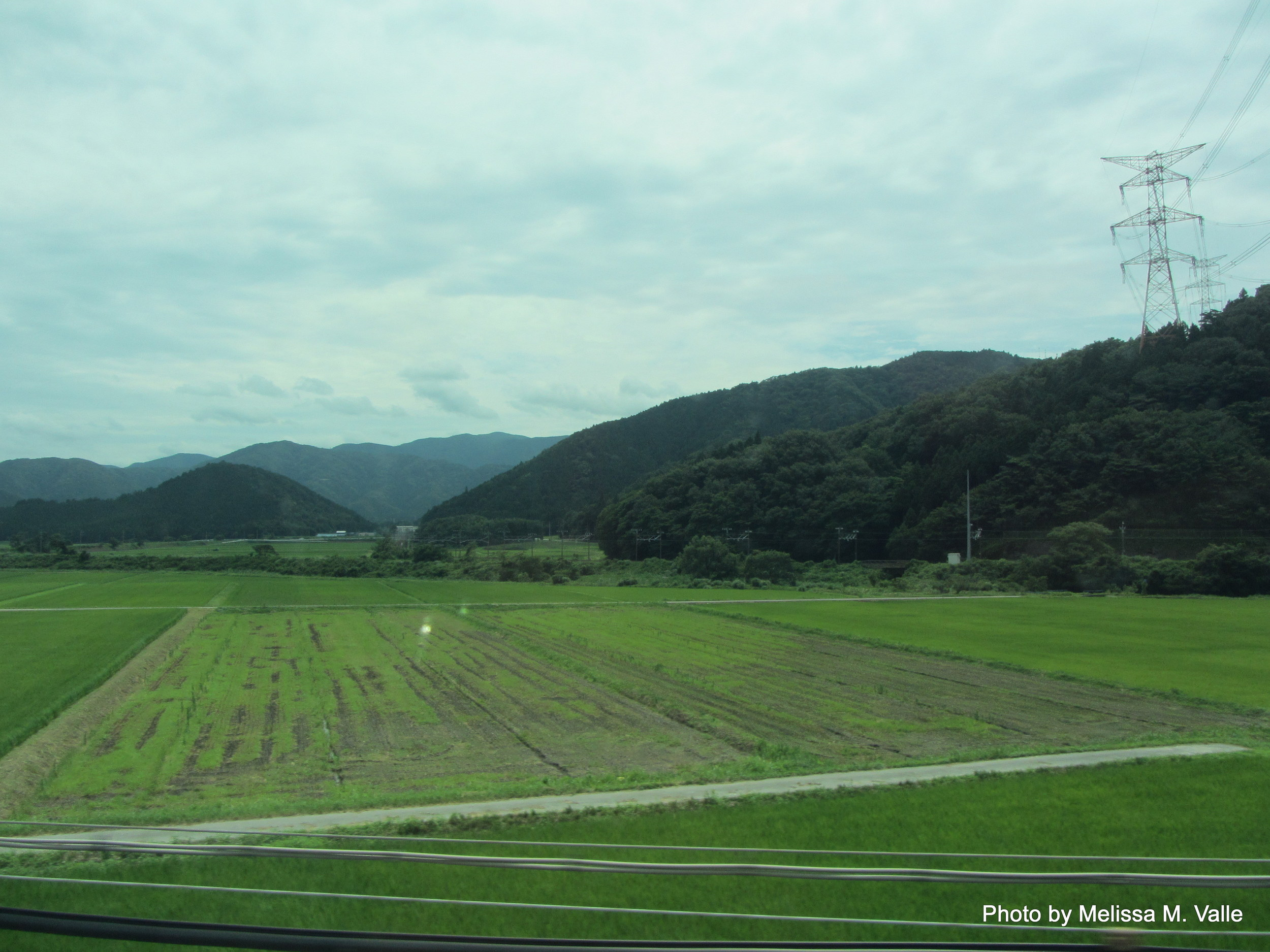 en route to kyoto from tokyo