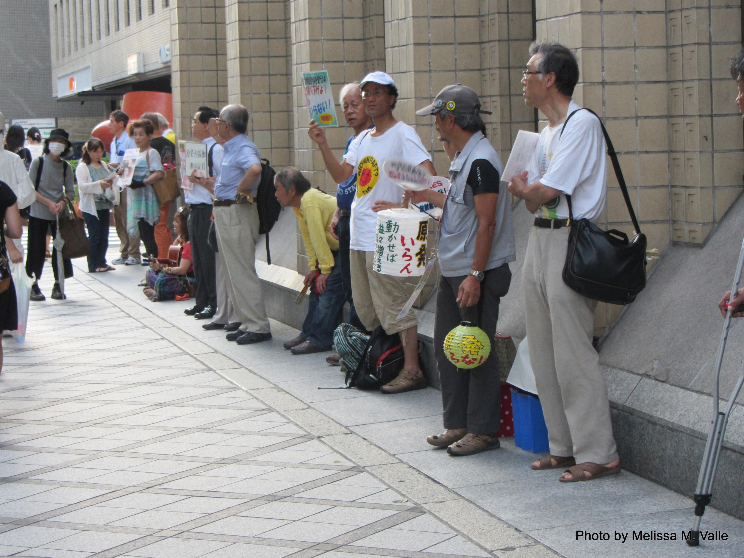 7.18.14 Kyoto, Japan-Anti-nukes protesters (5).JPG