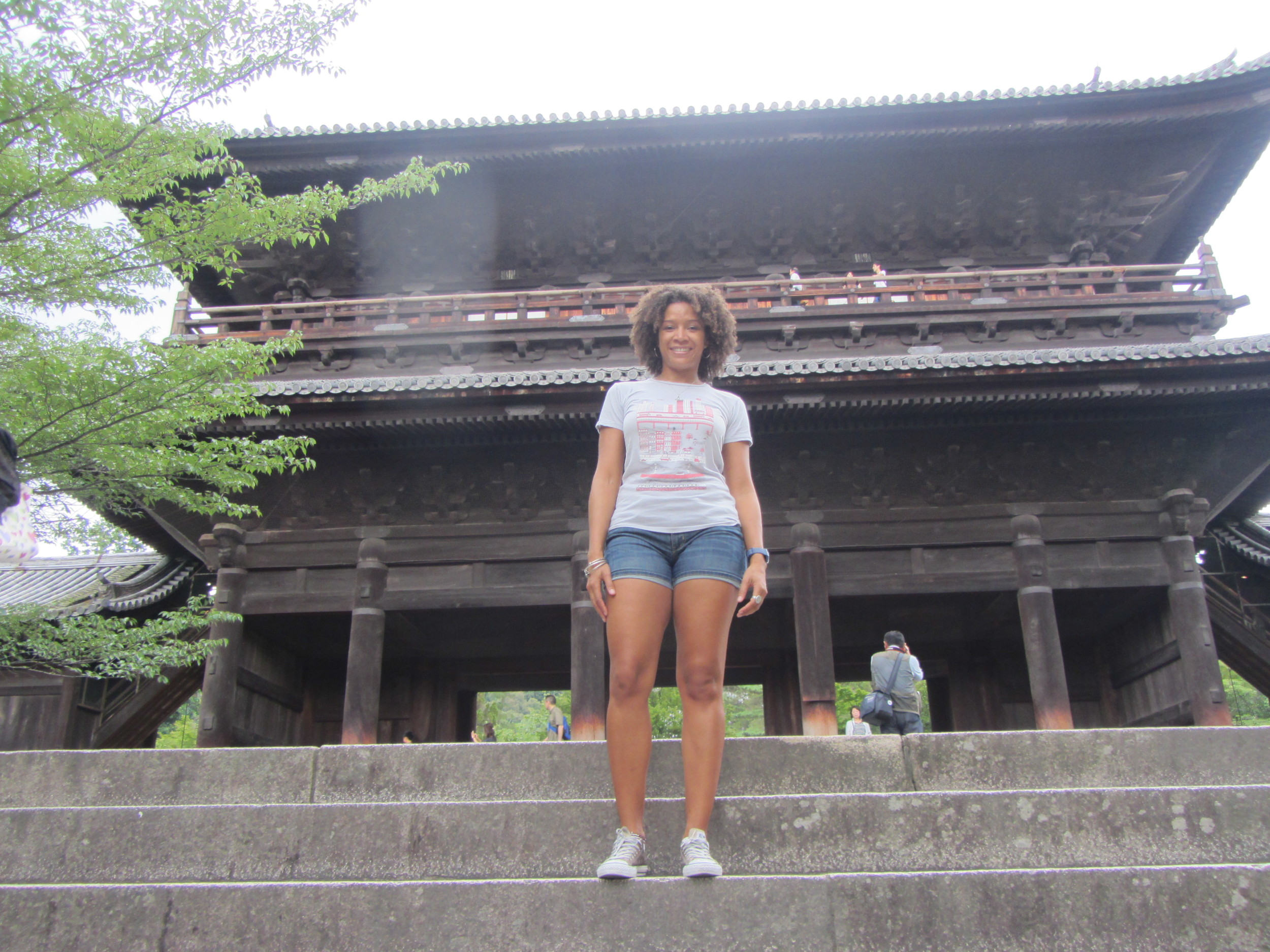 Me at Nanzen-Ji Temple. See, new friends mean no shitty selfies! Hooray!