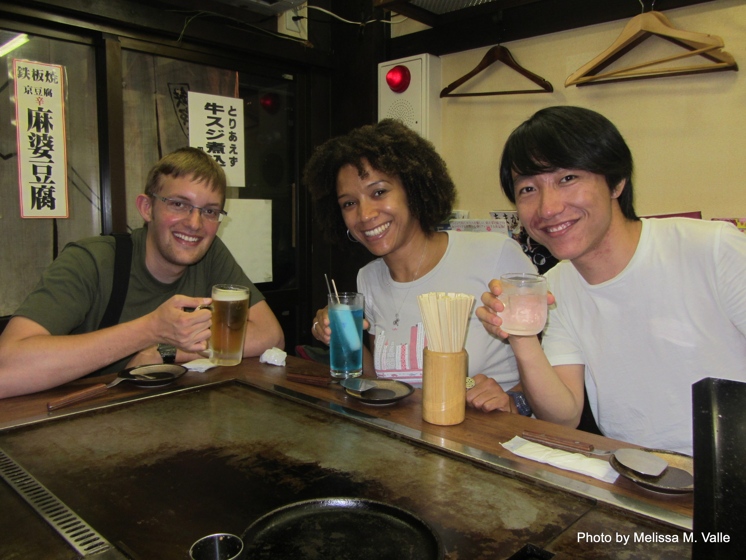 7.19.14 Kyoto, Japan-Okonoiyaki dinner with Calvin and Tony (1).JPG