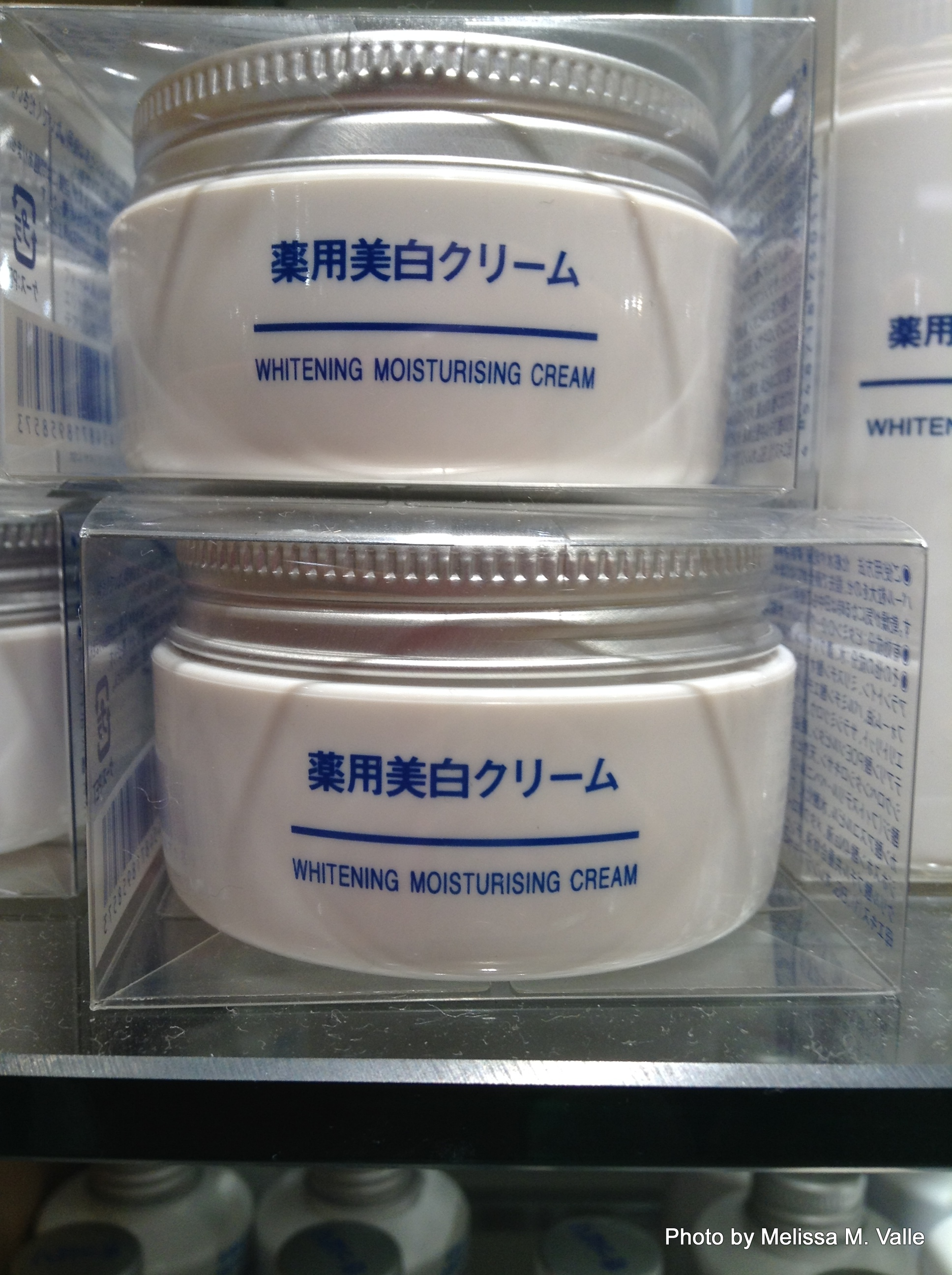 7.21.14 Tokyo, Japan- Ginza, Muji whitening products (1).JPG